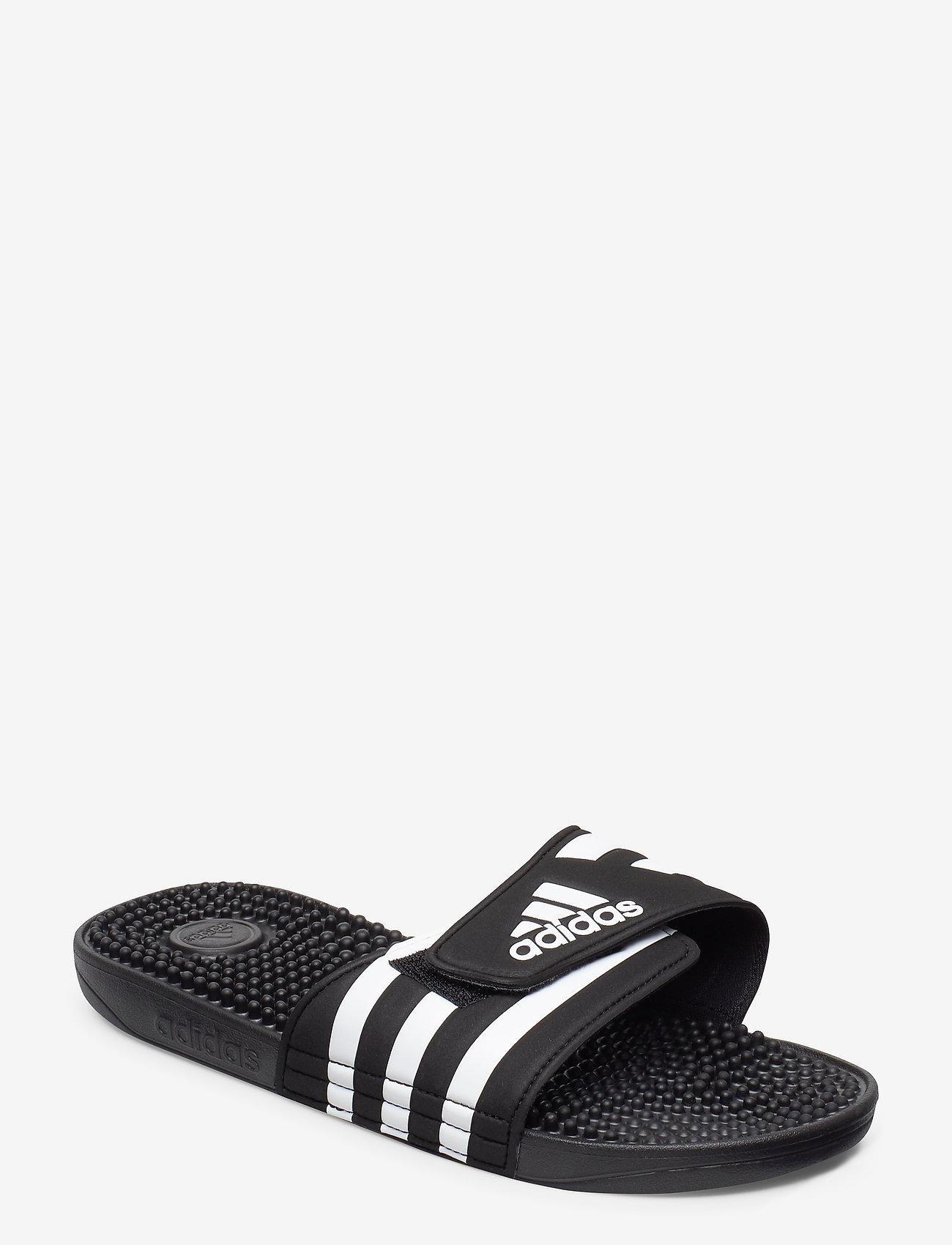 adidas Performance - ADISSAGE - pool sliders - cblack/ftwwht/cblack - 0