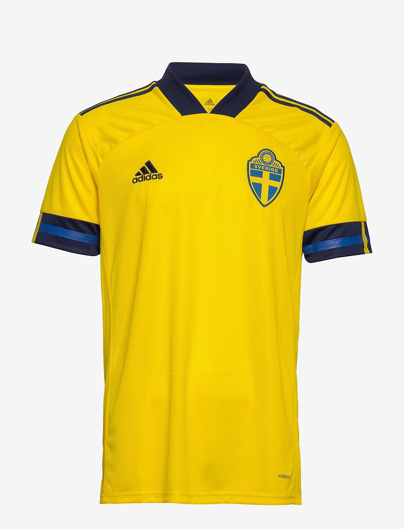 adidas Performance - Sweden 20/21 Home Jersey - football shirts - yellow/nindig - 1