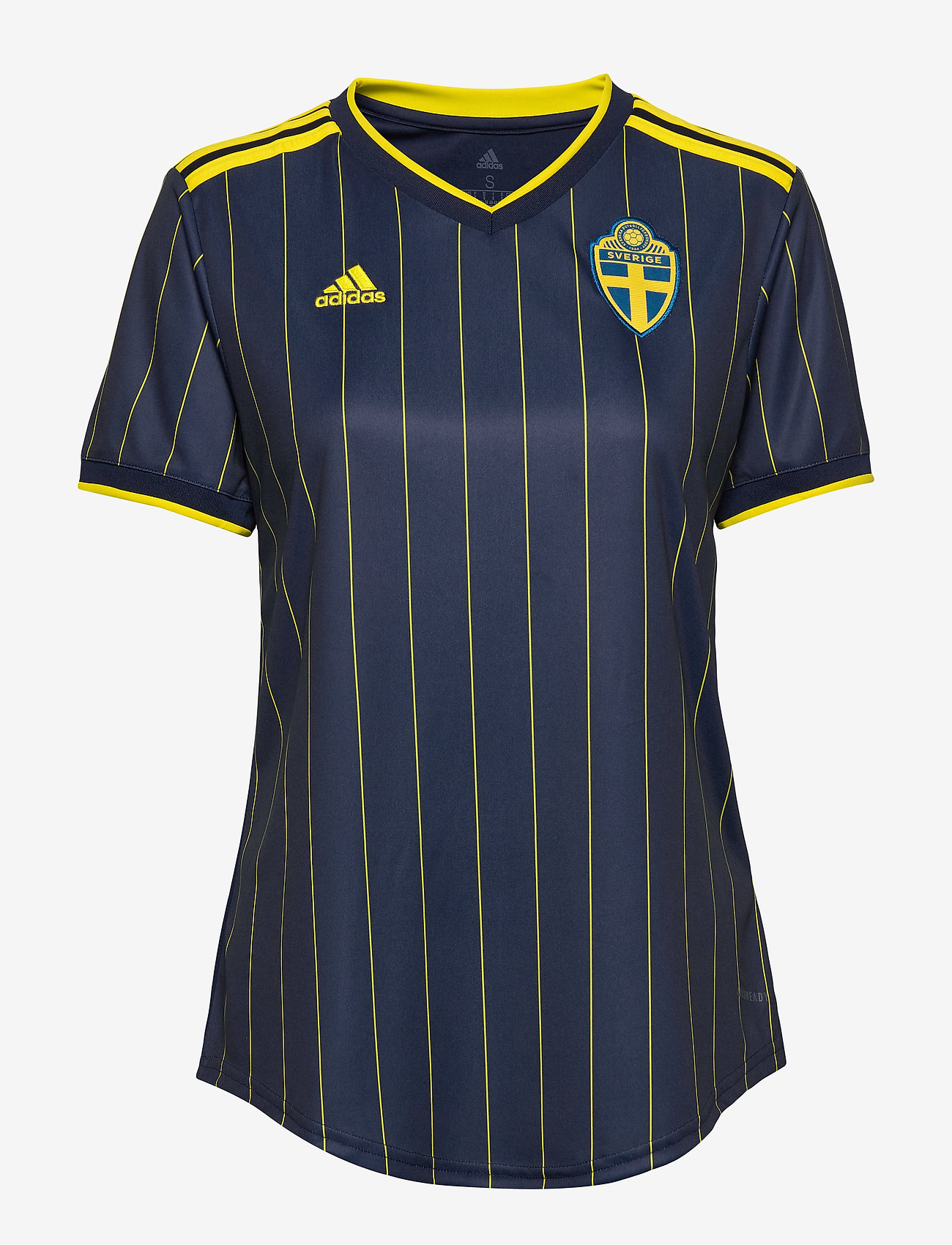 adidas Performance - Sweden 20/21 Away Jersey W - voetbalshirts - nindig/yellow - 1
