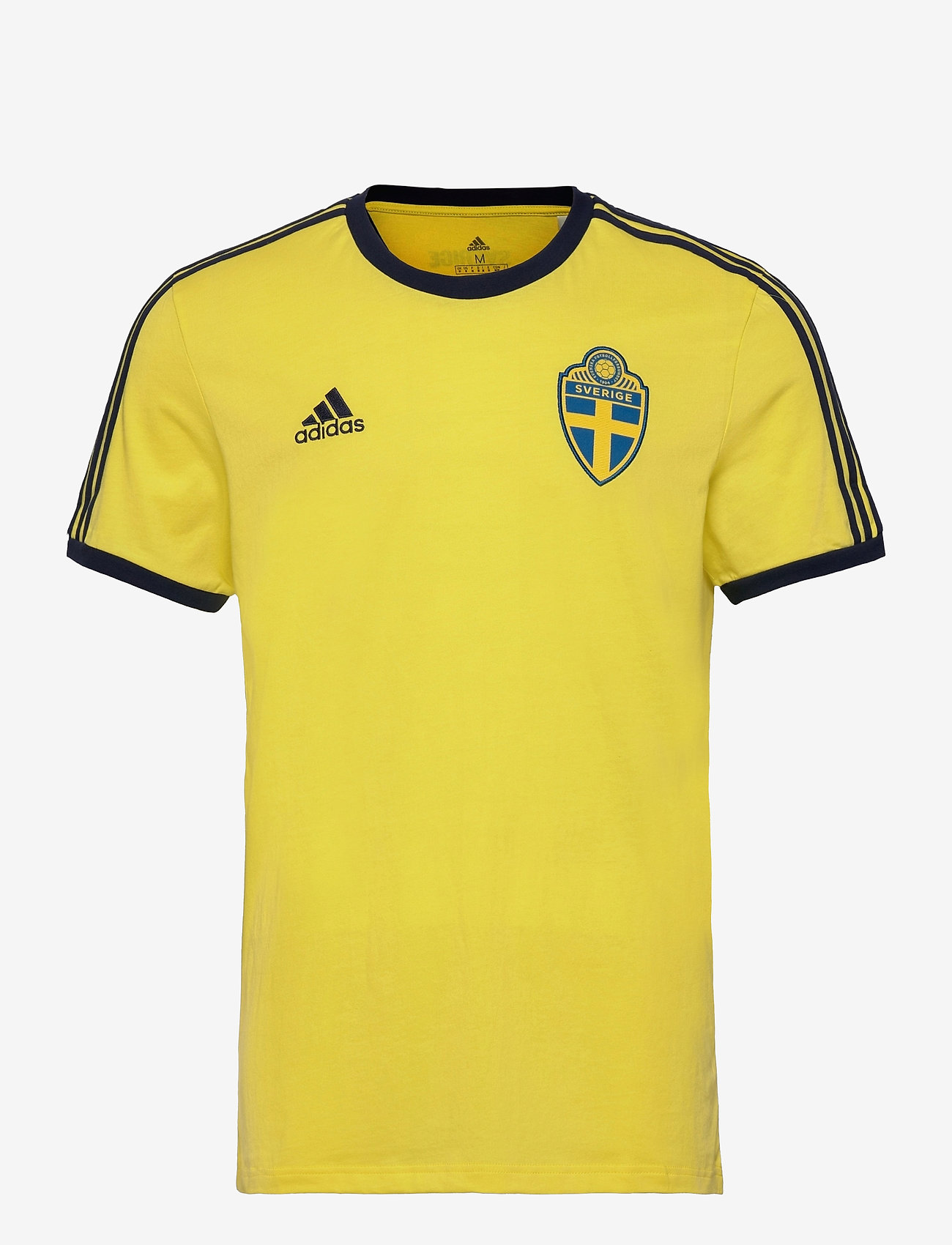adidas Performance - Sweden 3-Stripes T-Shirt - t-shirts - shoyel - 1
