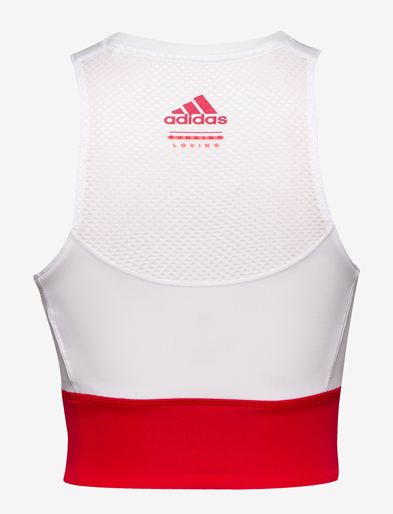adidas Performance OTR CROP VAL - T-shirts & Tops WHITE/SCARLE