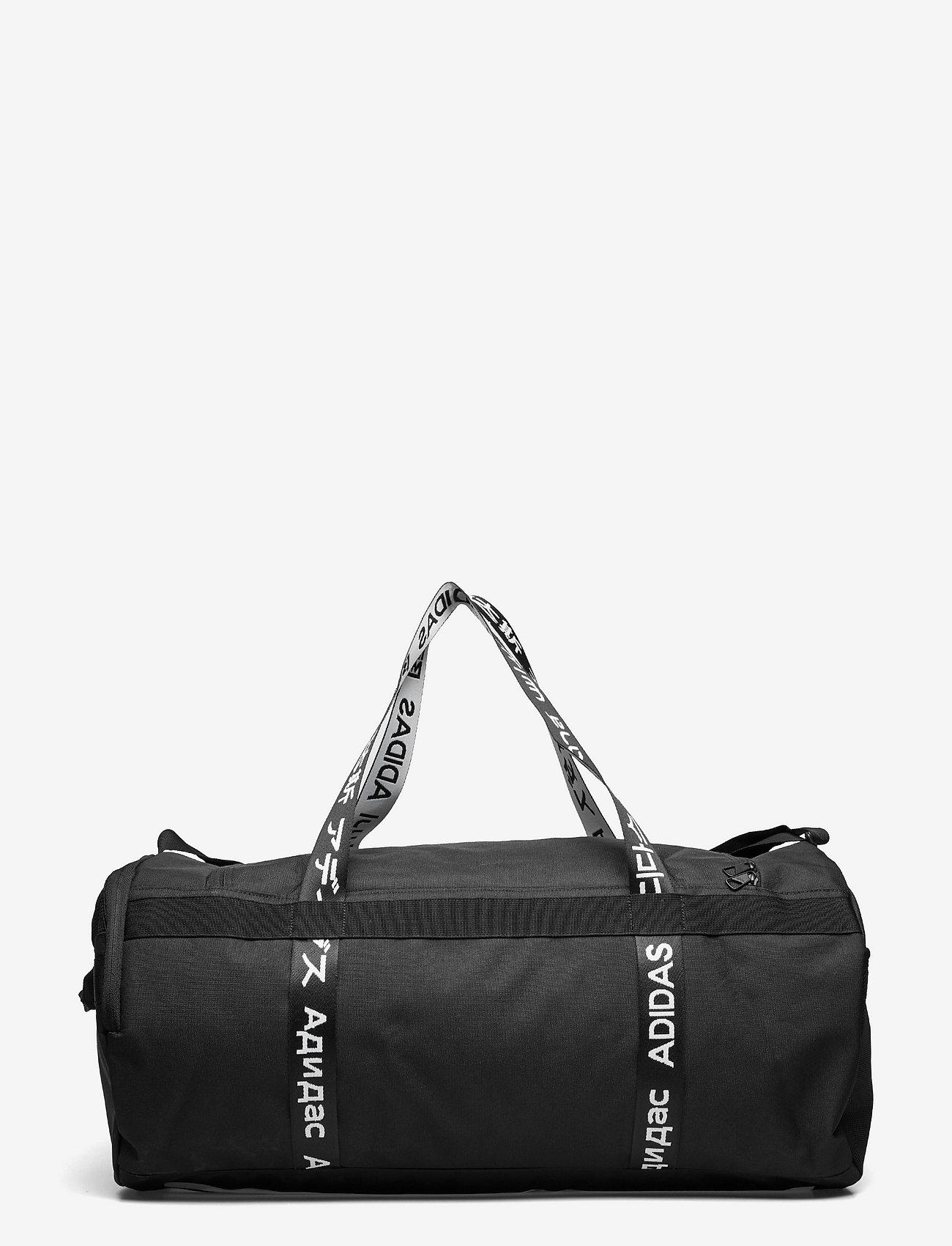 adidas Performance - 4ATHLTS Duffel Bag Large - træningstasker - black/black/white - 1