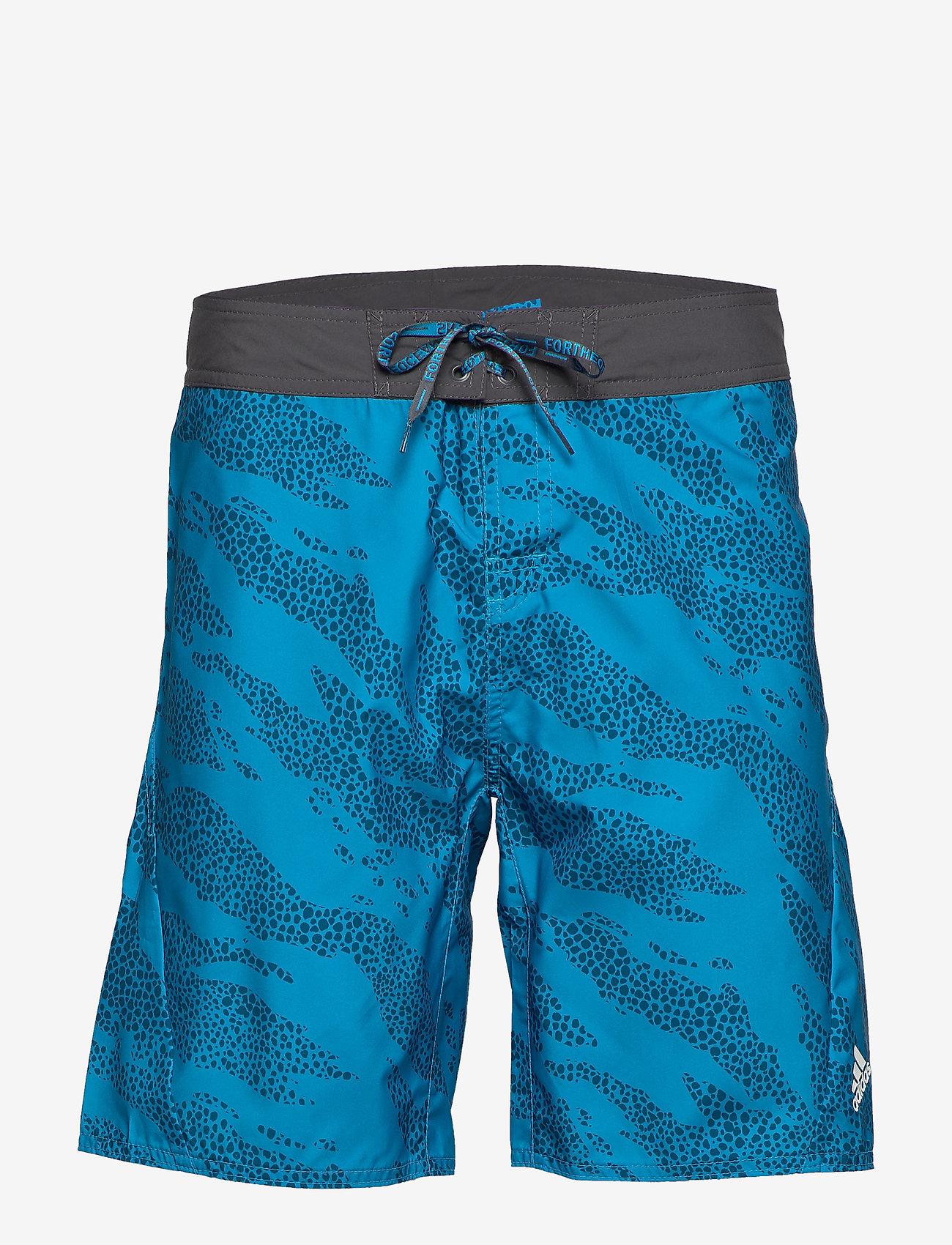 adidas Performance - P.BLUE SH TECH - uimashortsit - shablu - 1