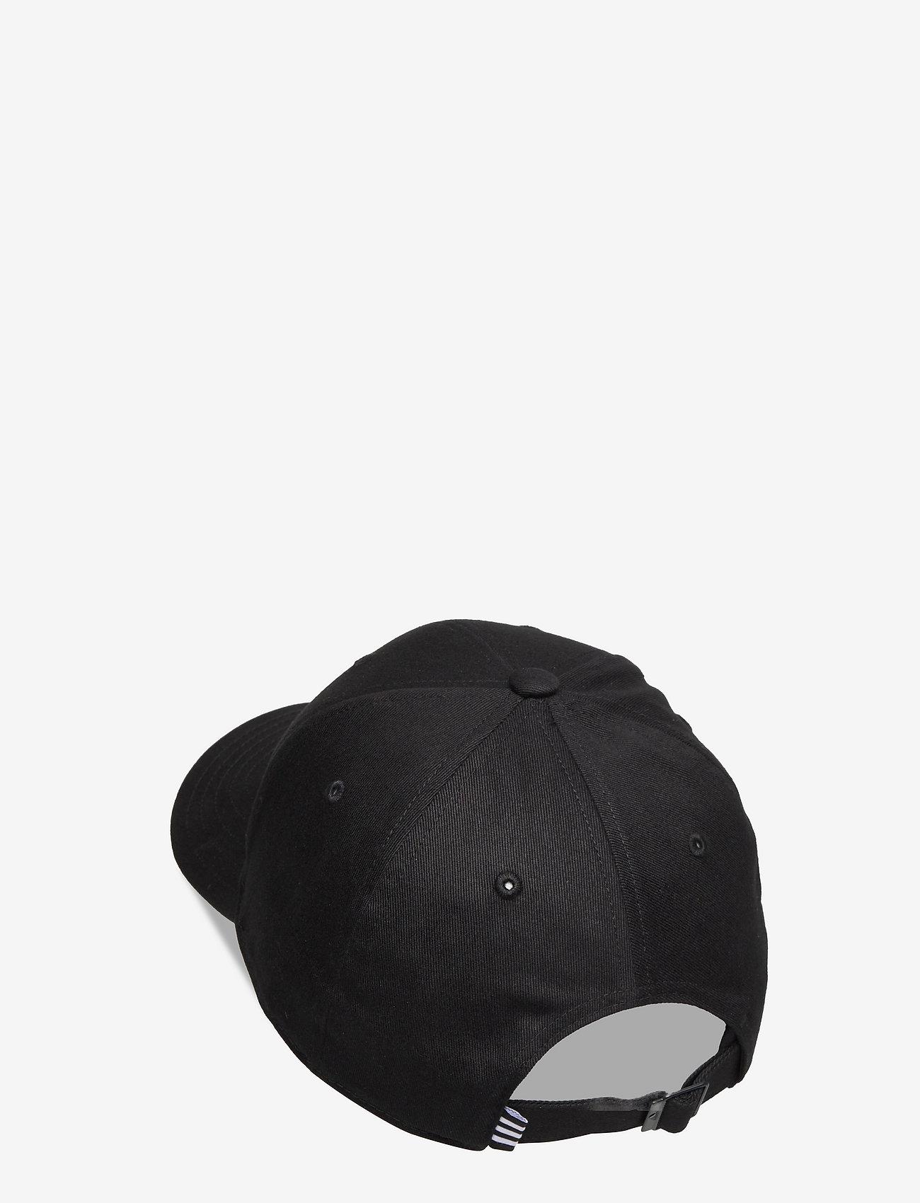 adidas Performance - Baseball Cap - kasketter - black/black/white - 1