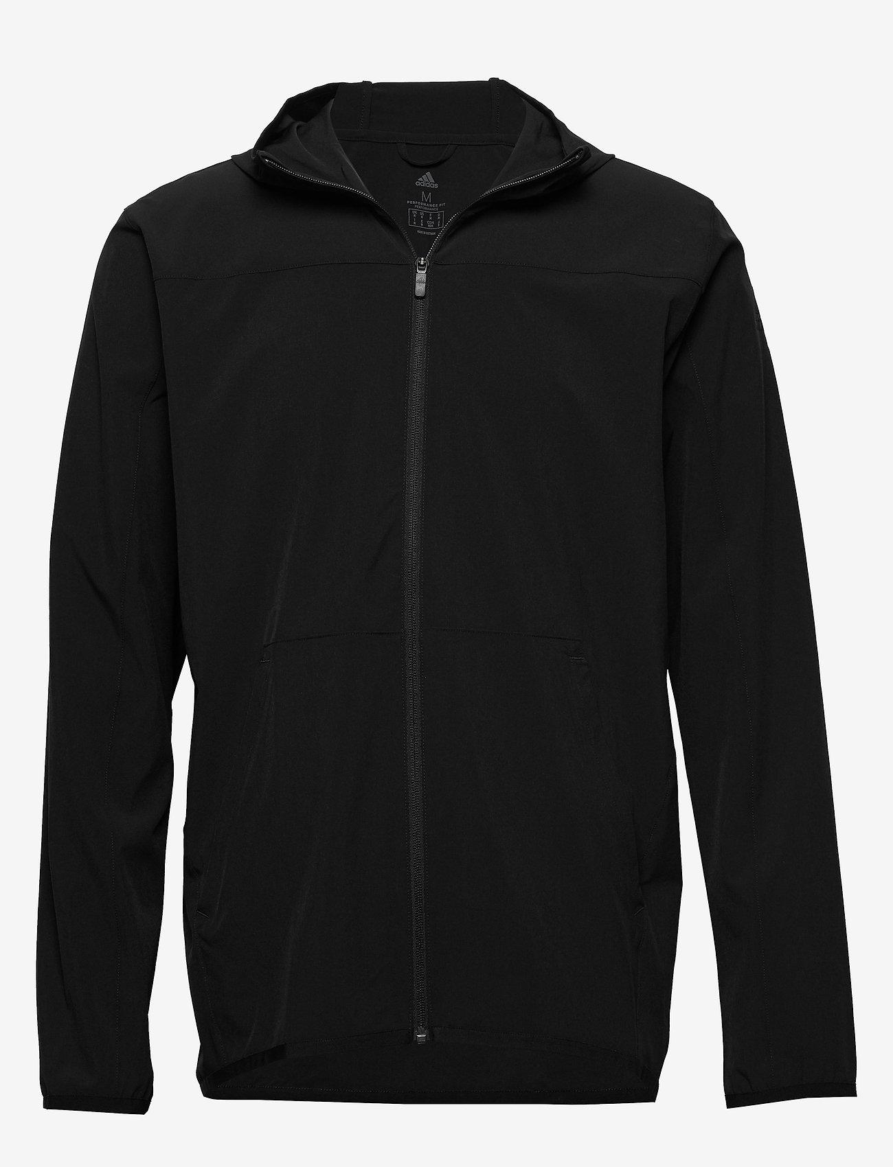 adidas Performance - CITY WV F/Z HD - sweats basiques - black - 1