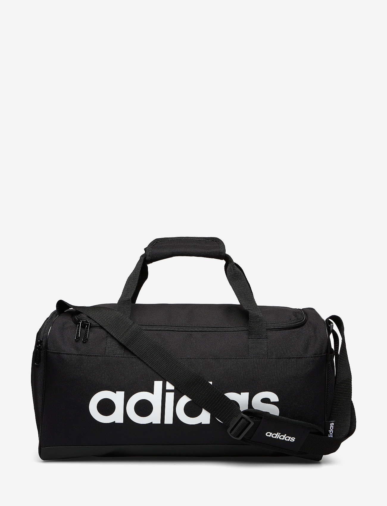 adidas Performance - LIN DUFFLE S - sports bags - black/black/white - 0