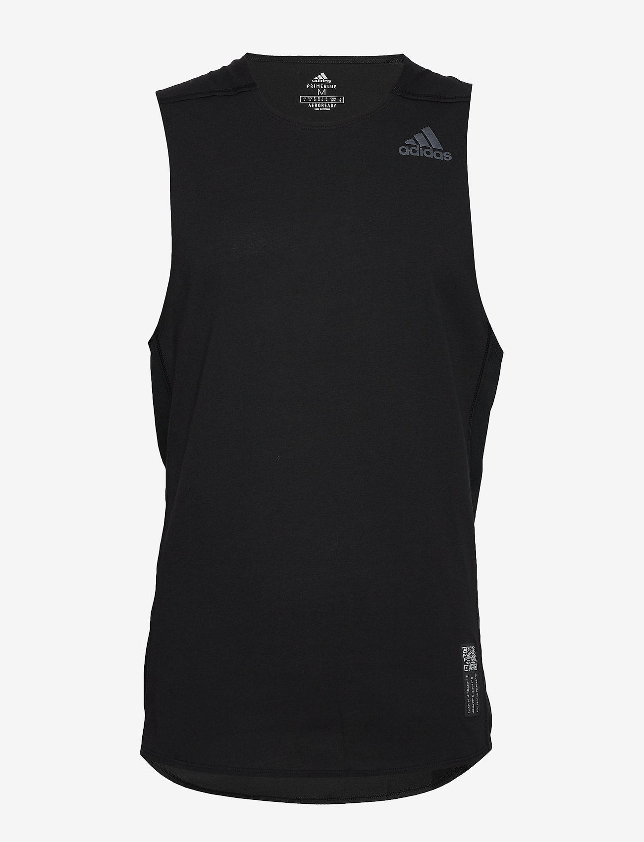 adidas Performance - P.BLUE SINGLET - tank tops - black - 0