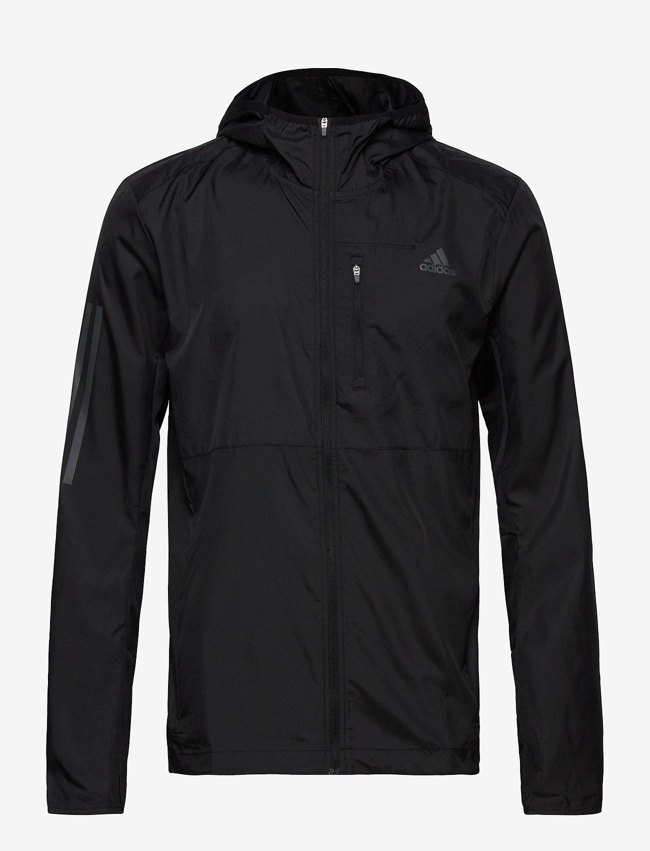 adidas Performance - OWN THE RUN JKT - training jackets - black - 1