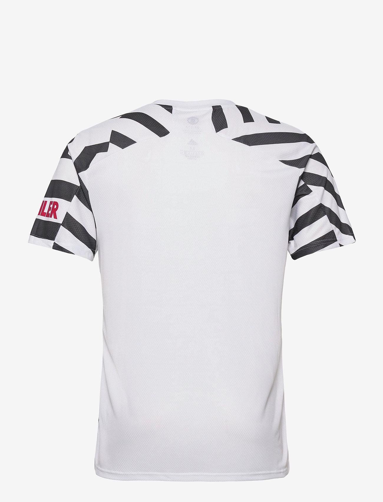 adidas Performance MUFC 3 JSY - T-skjorter WHITE/BLACK - Menn Klær