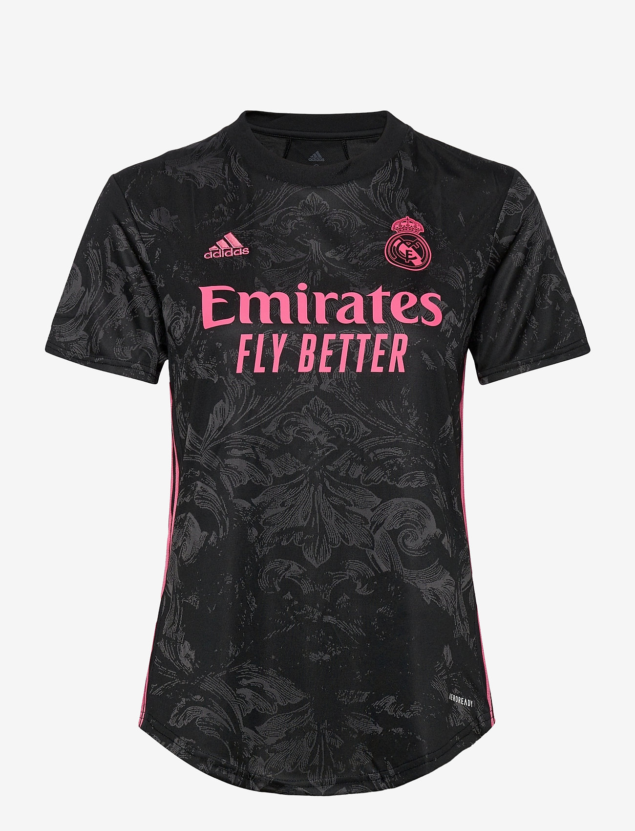 adidas Performance - Real Madrid Women's Third Jersey - football shirts - black - 0