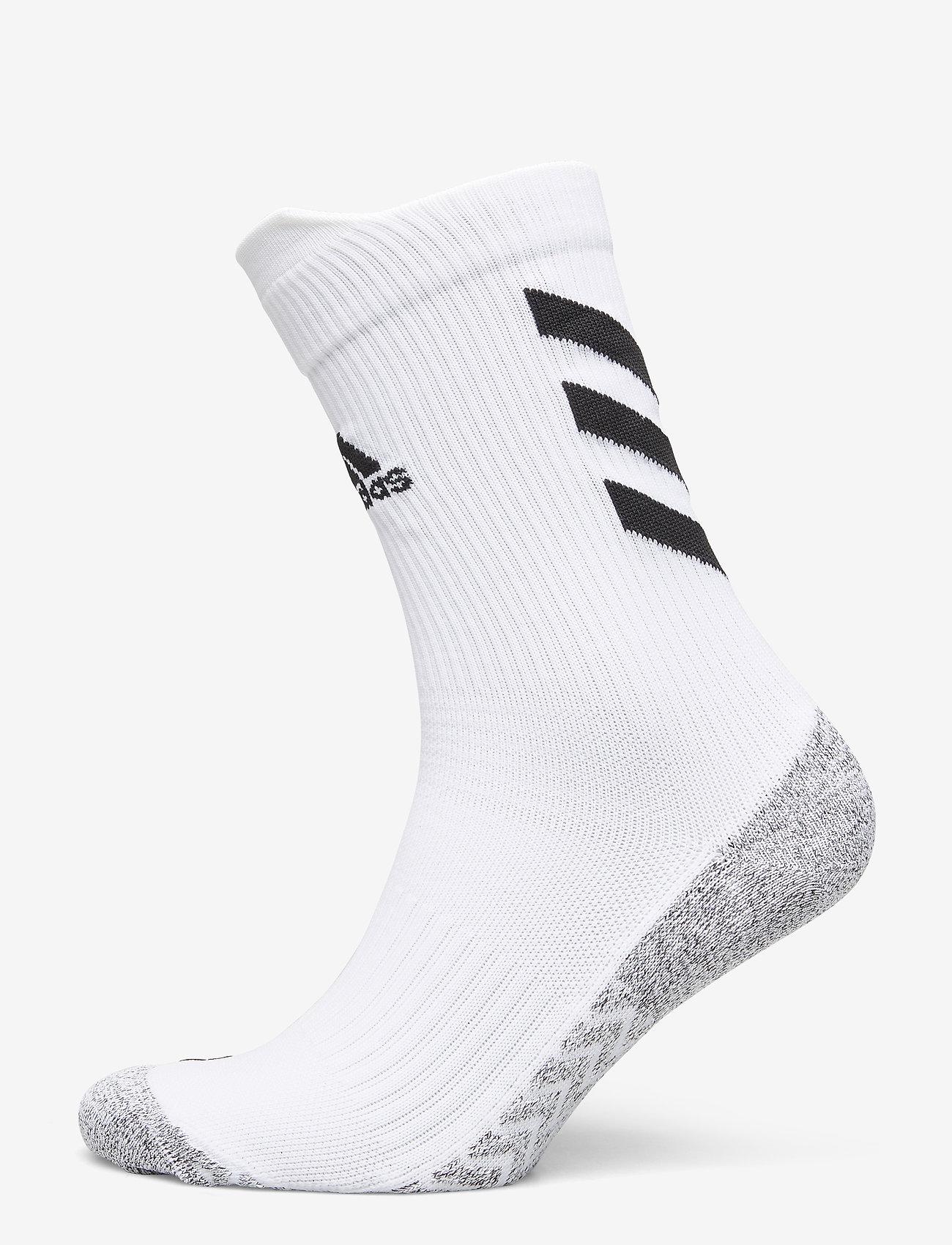 adidas Performance - Alphaskin Traxion Crew Socks - kousen - white/black/black - 0