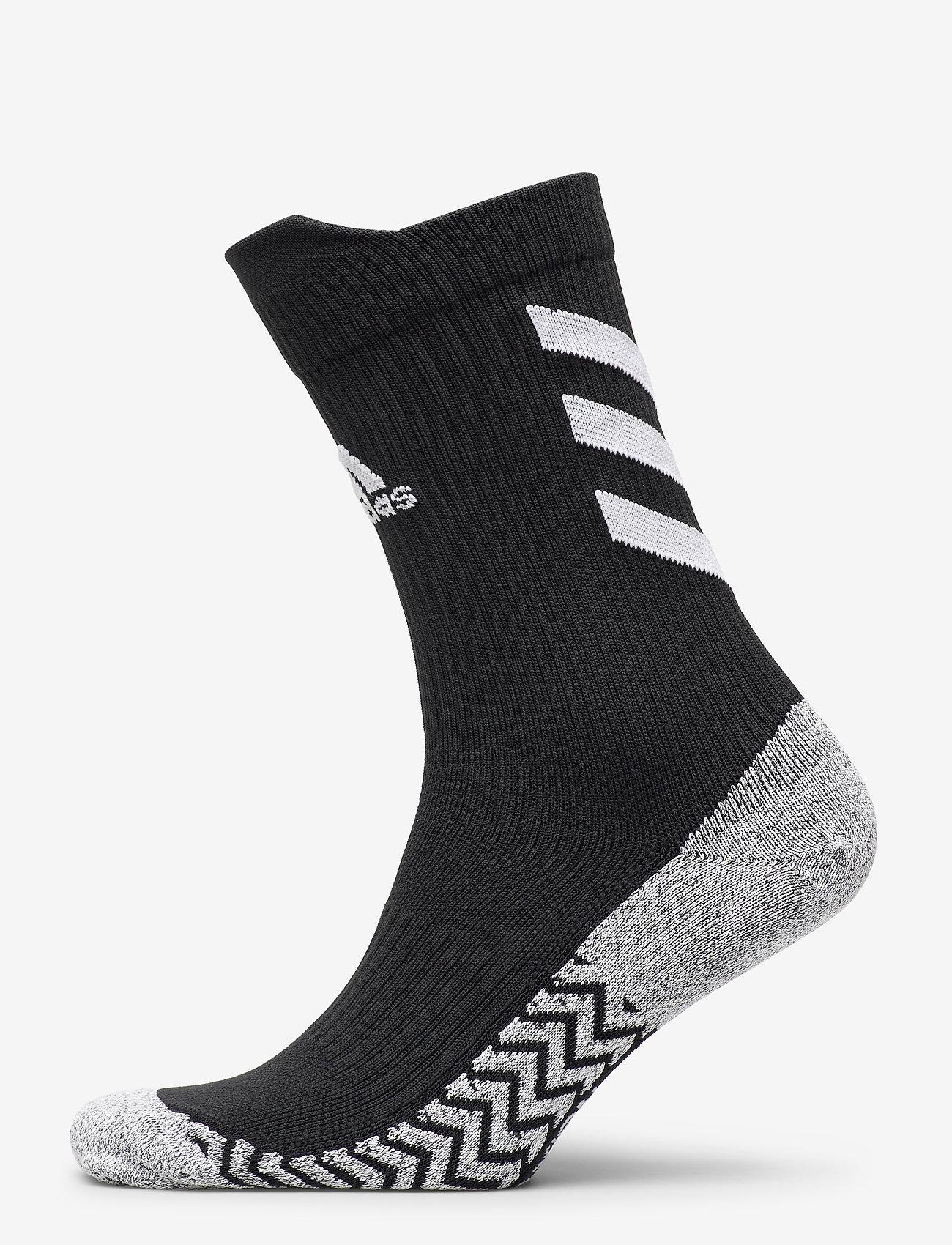 adidas Performance - Alphaskin Traxion Crew Socks - kousen - black/white/white - 0