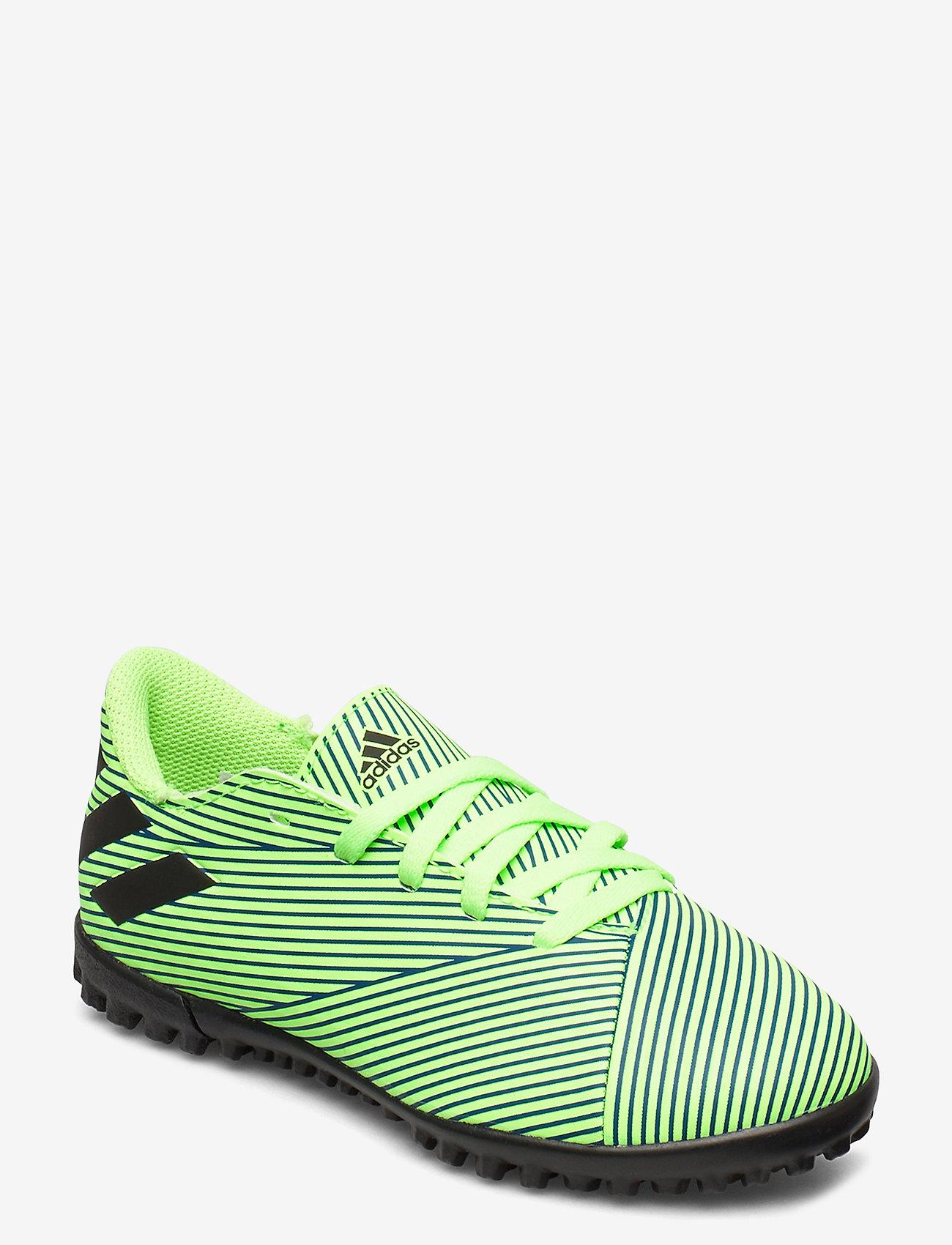 adidas Performance - NEMEZIZ 19.4 TF J - buty sportowe - siggnr/cblack/royblu - 0