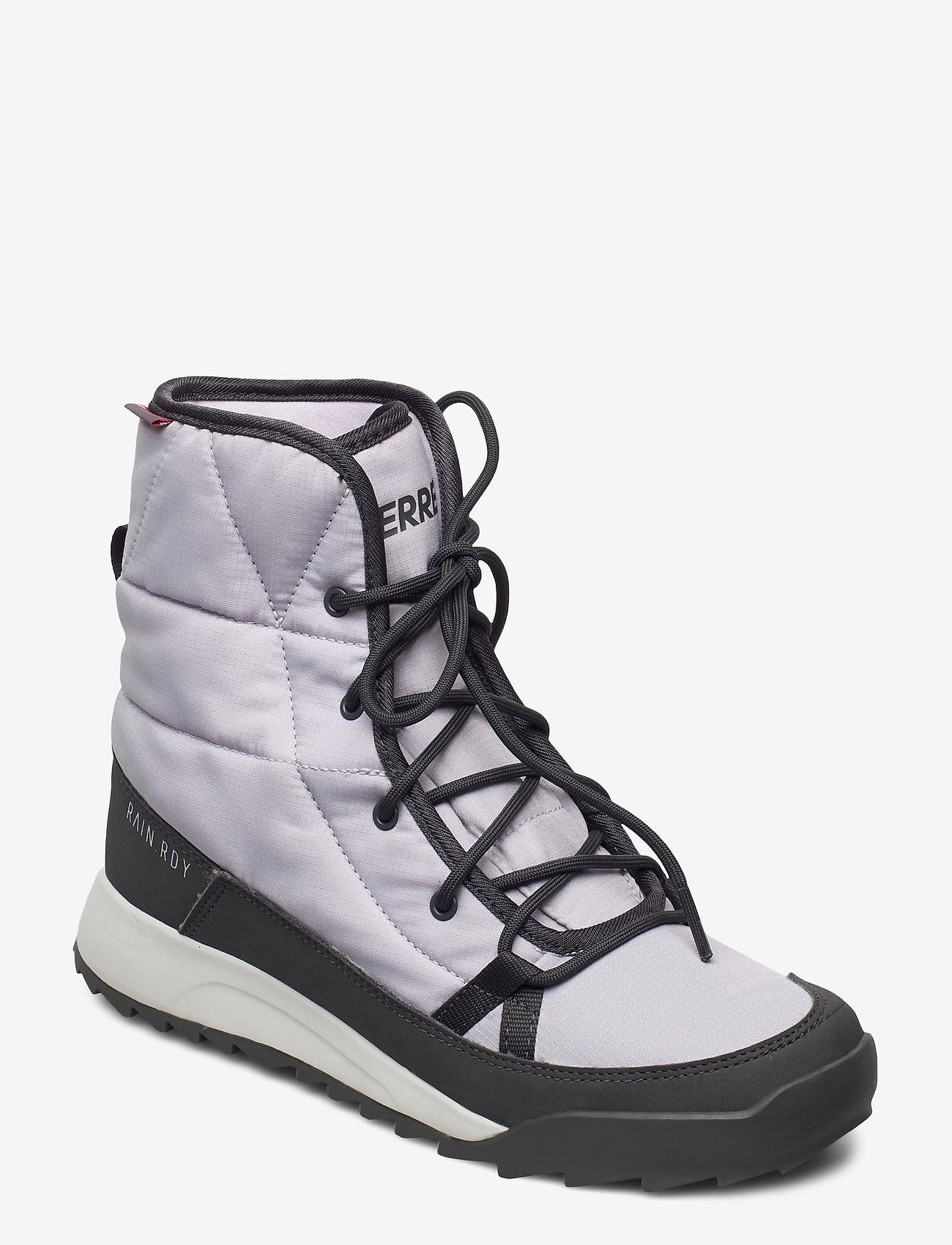 adidas Performance - TERREX CHOLEAH PADDED R.RDY W - flade ankelstøvler - glogry/dgsogr/prptnt - 0