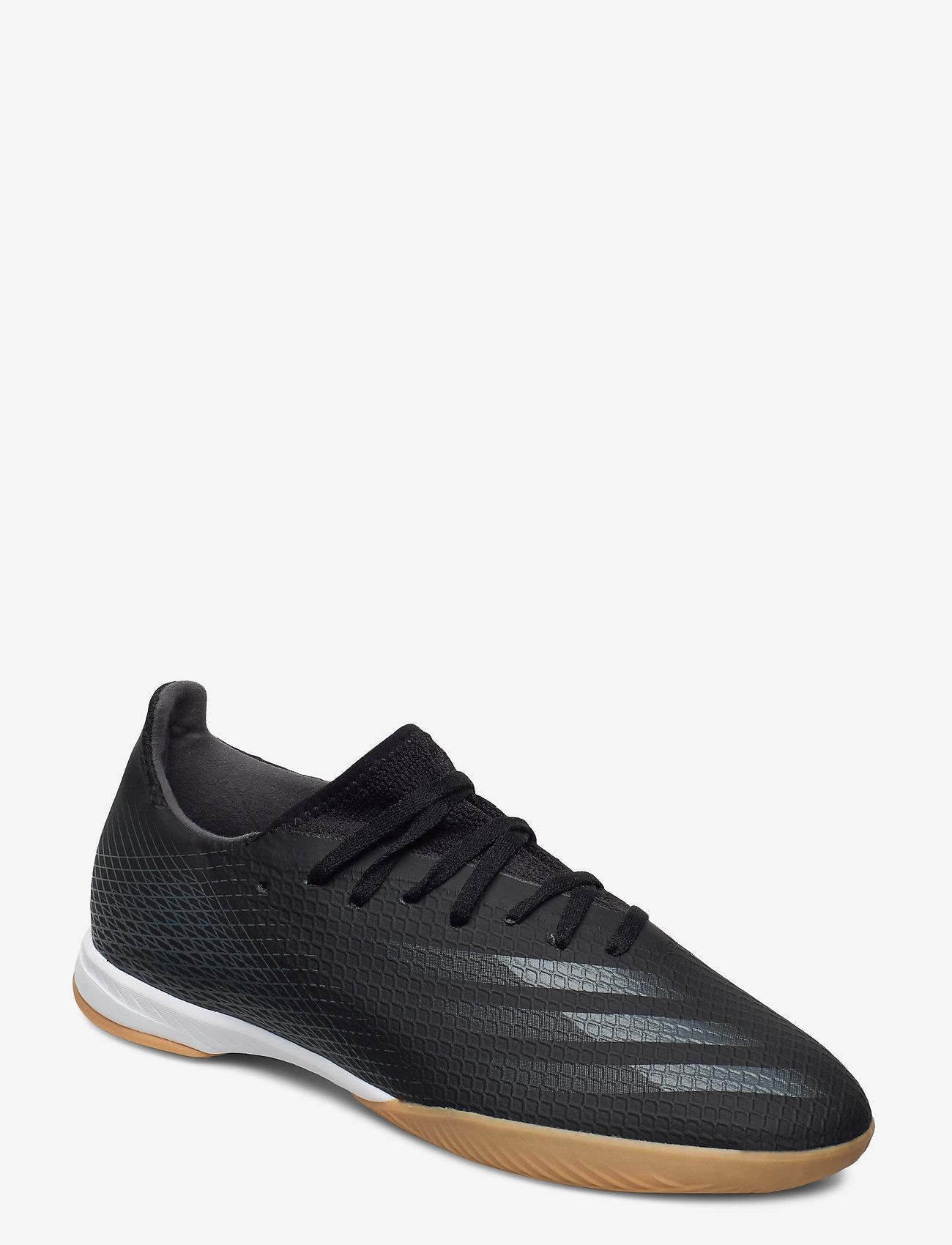 adidas Performance - X GHOSTED.3 IN - fodboldsko - cblack/gresix/cblack - 0