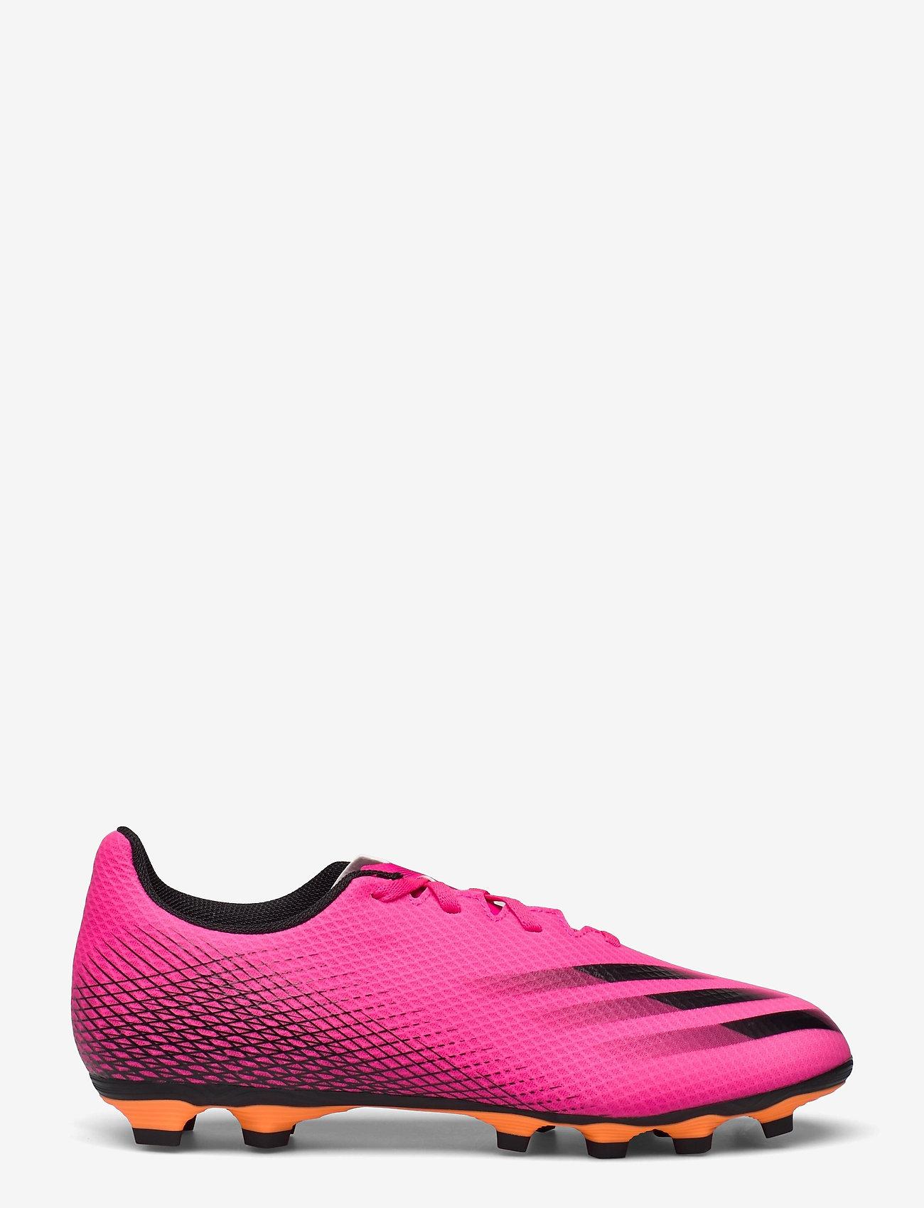 adidas Performance - X Ghosted.4 Flexible Ground Boots - fotbollsskor - shopnk/cblack/scrora - 0