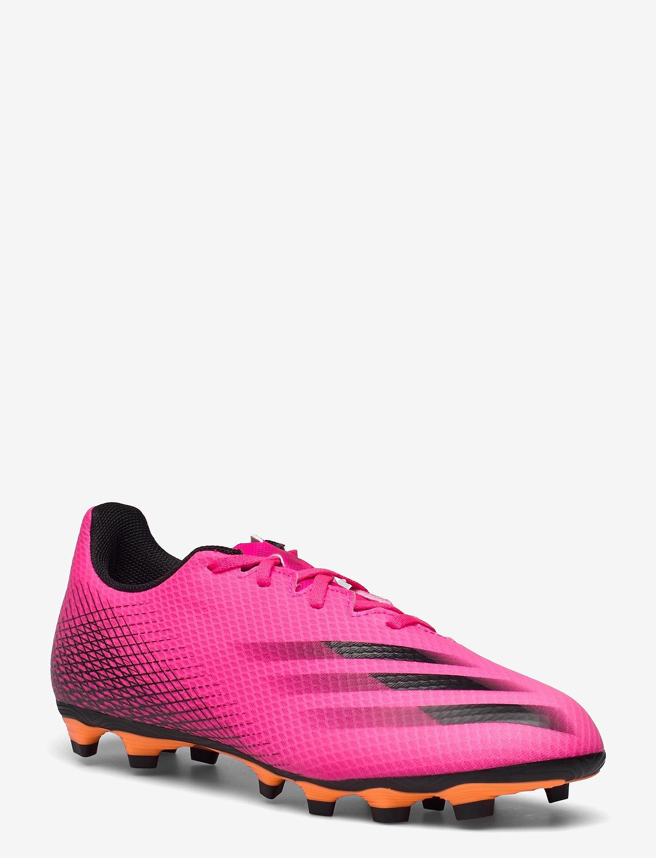 adidas Performance - X Ghosted.4 Flexible Ground Boots - fotbollsskor - shopnk/cblack/scrora - 1
