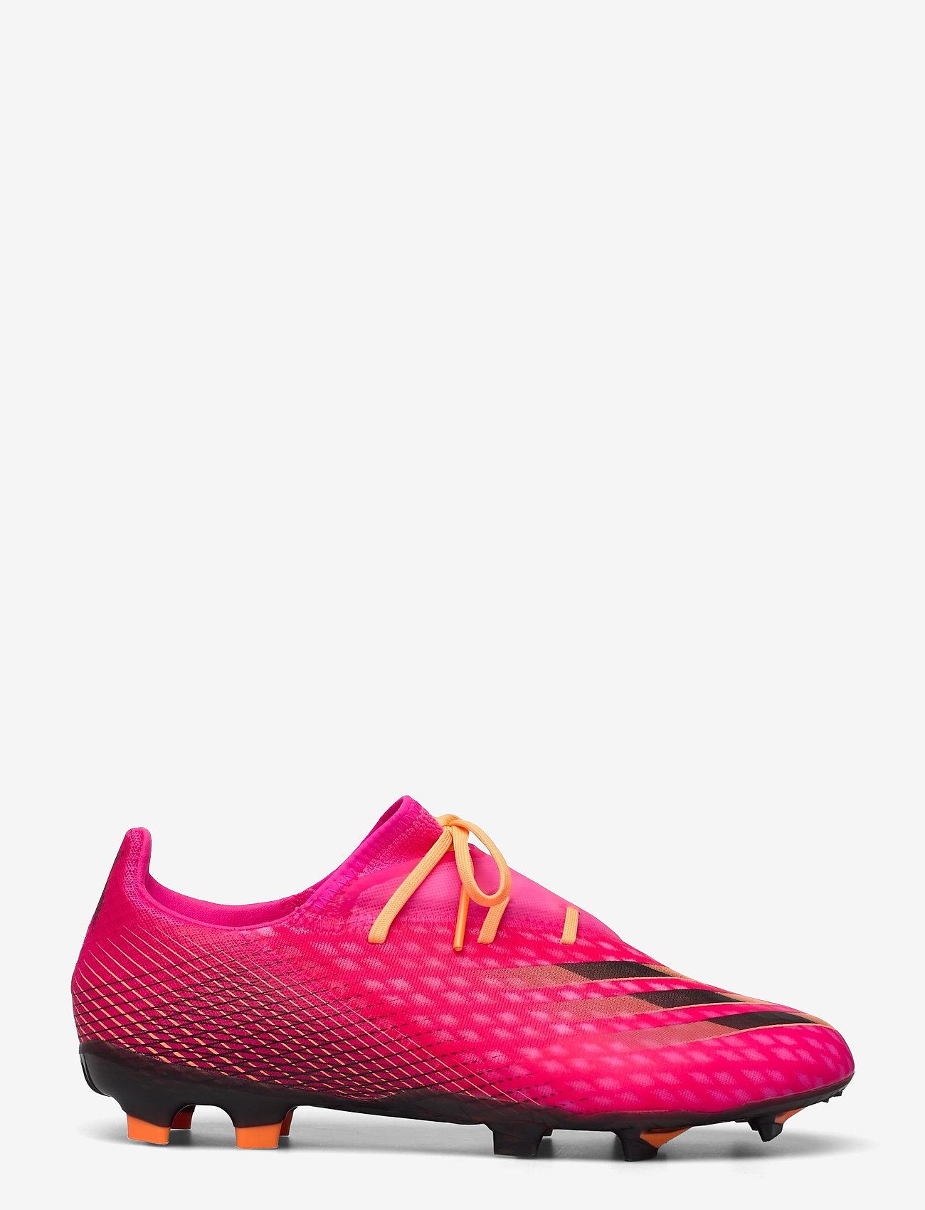 adidas Performance - X Ghosted.2 Firm Ground Boots - fotbollsskor - shopnk/cblack/scrora - 1