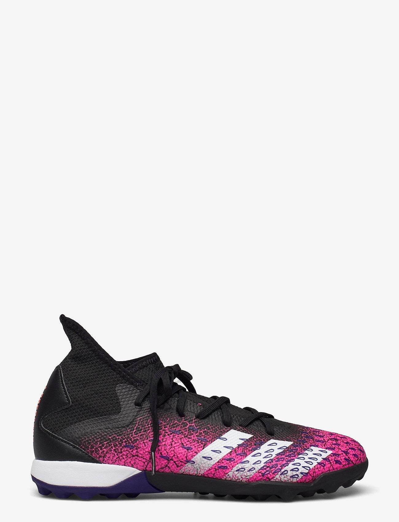 adidas Performance - Predator Freak.3 Turf Boots - fodboldsko - cblack/ftwwht/shopnk - 0