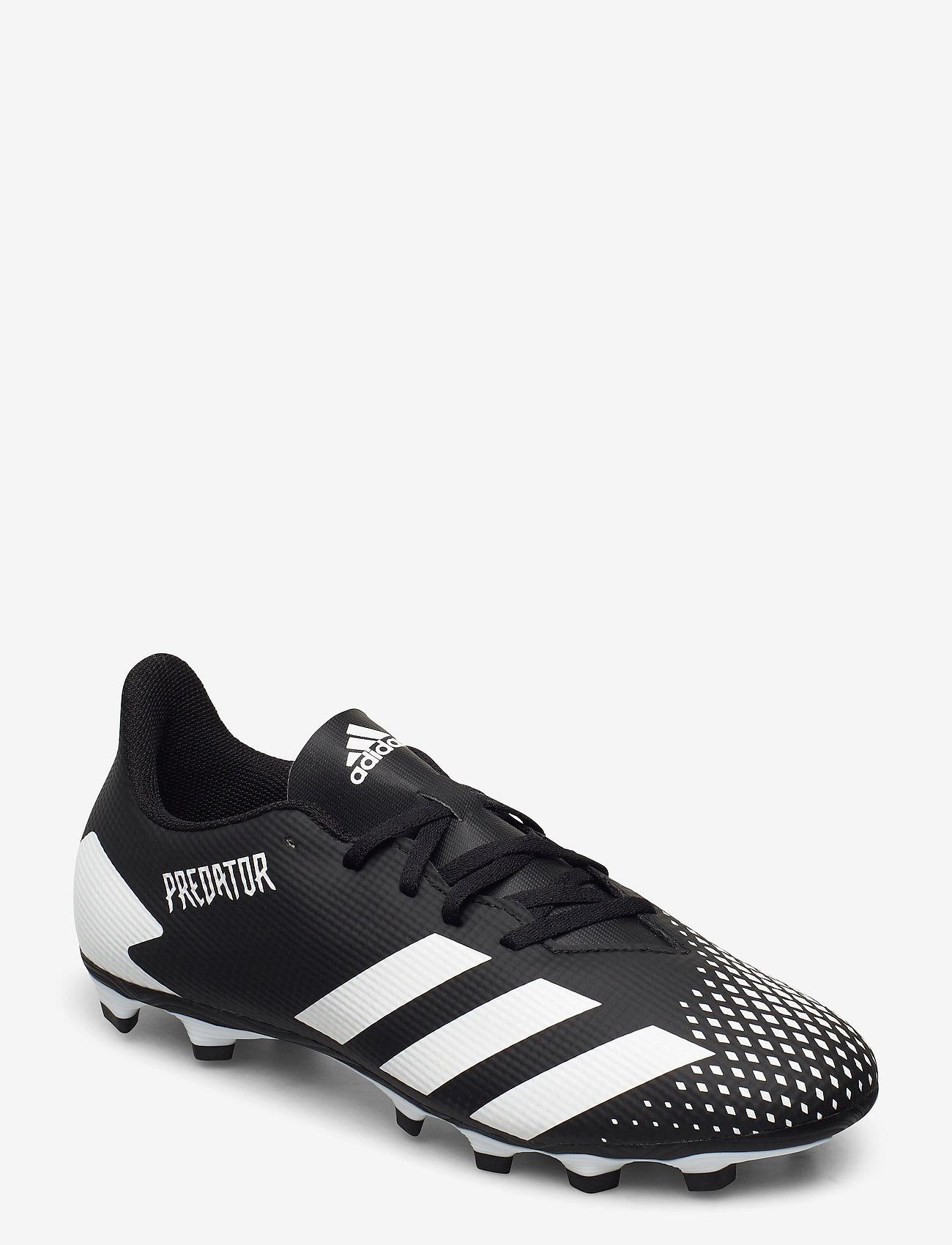 adidas Performance - PREDATOR 20.4 FxG - fotbollsskor - cblack/ftwwht/cblack - 0