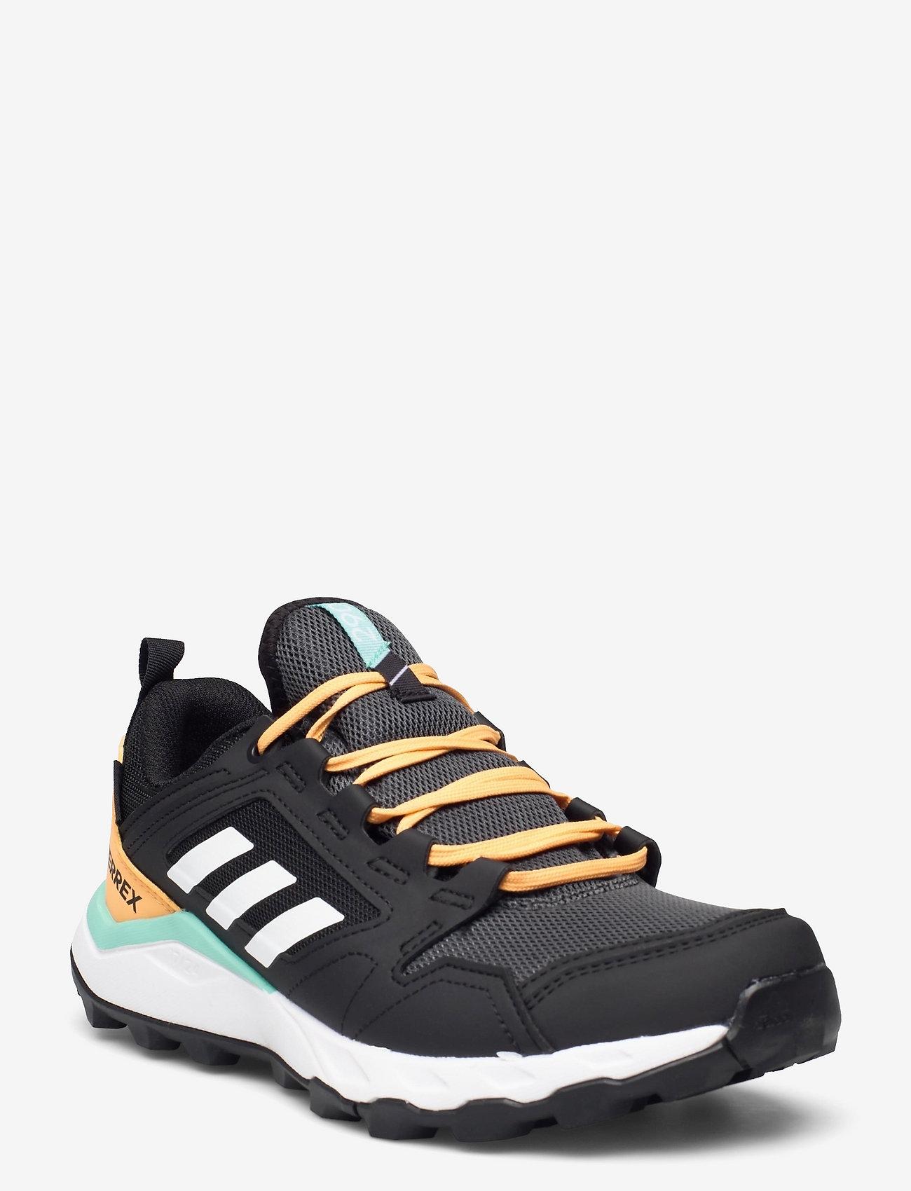 adidas Performance - Terrex Agravic TR GORE-TEX Trail Running  W - running shoes - cblack/ftwwht/hazora - 0