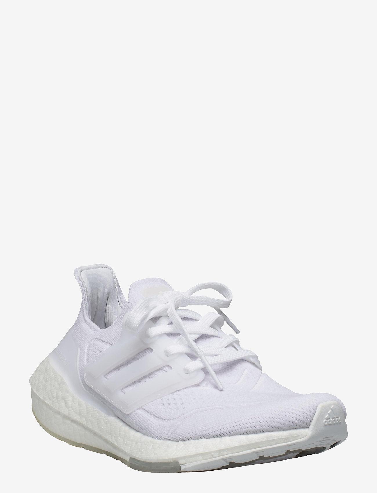 adidas Performance - Ultraboost 21  W - running shoes - ftwwht/ftwwht/grethr - 1
