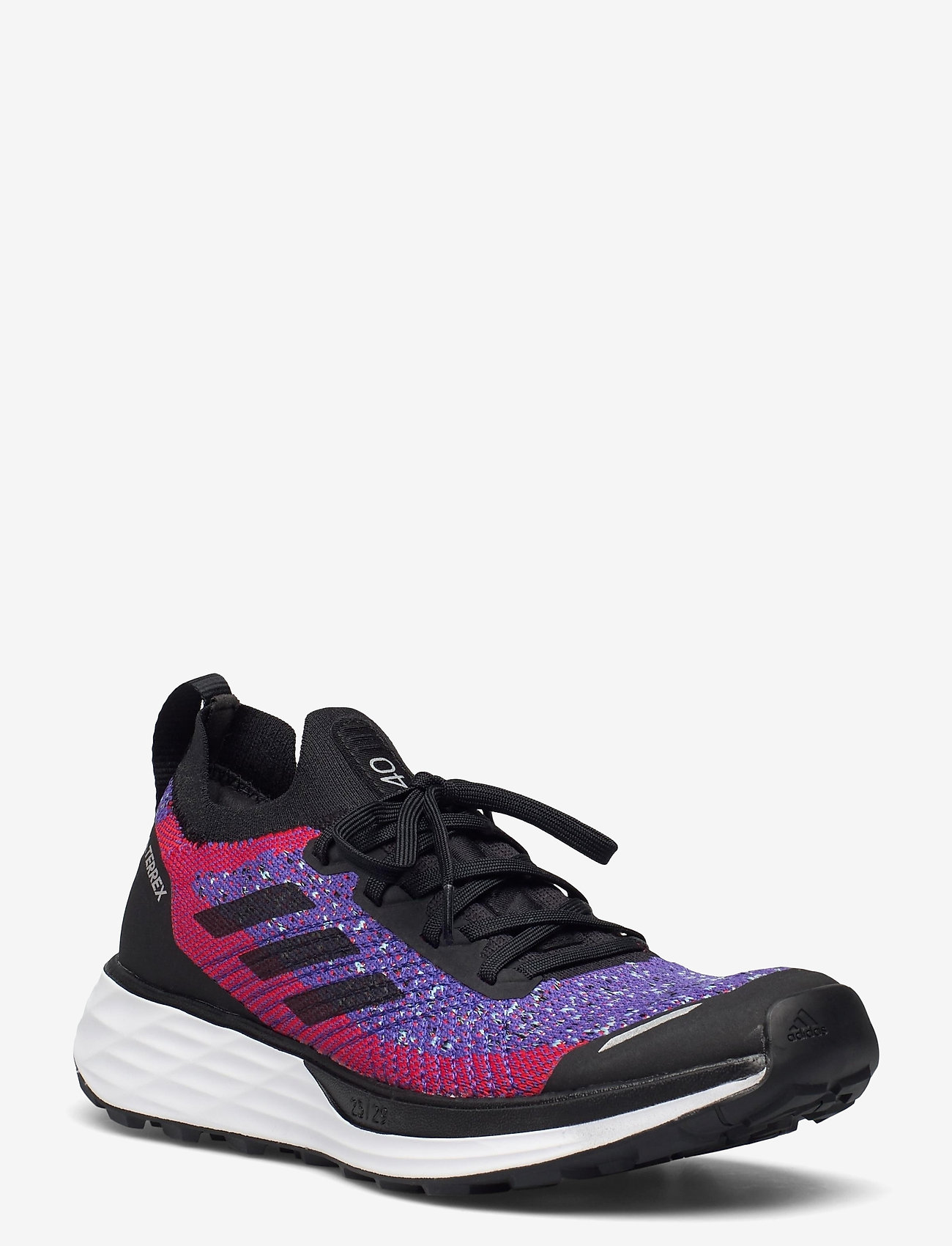 adidas Performance - Terrex Two Primeblue Trail Running W - wanderschuhe - scarle/cblack/hazsky - 0