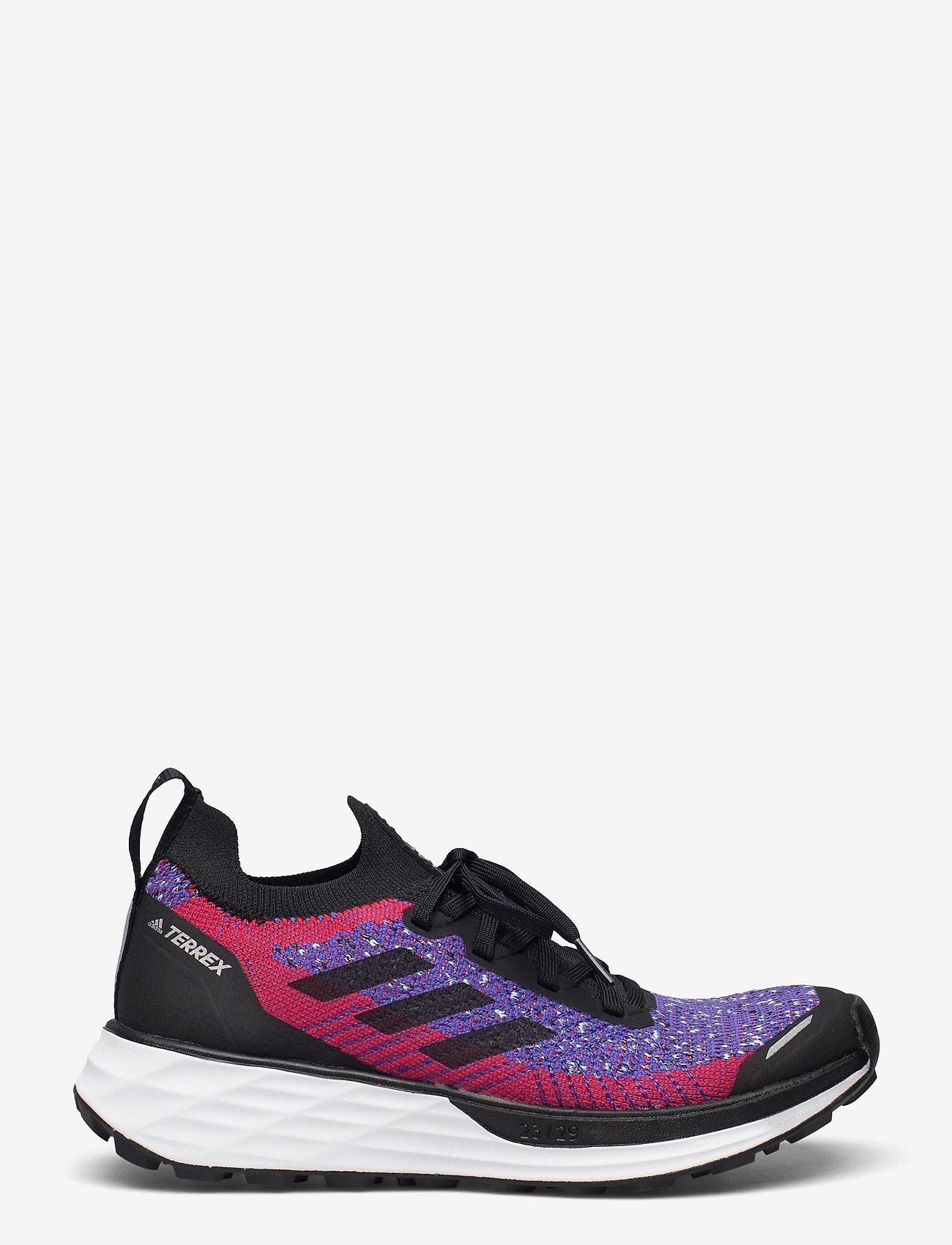 adidas Performance - Terrex Two Primeblue Trail Running W - wanderschuhe - scarle/cblack/hazsky - 1