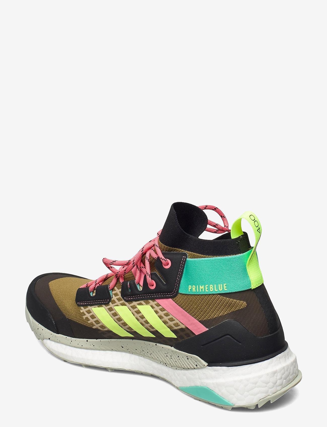 adidas Performance - Terrex Free Hiker Primeblue Hiking - vandringsskor - wilmos/cblack/acimin - 2