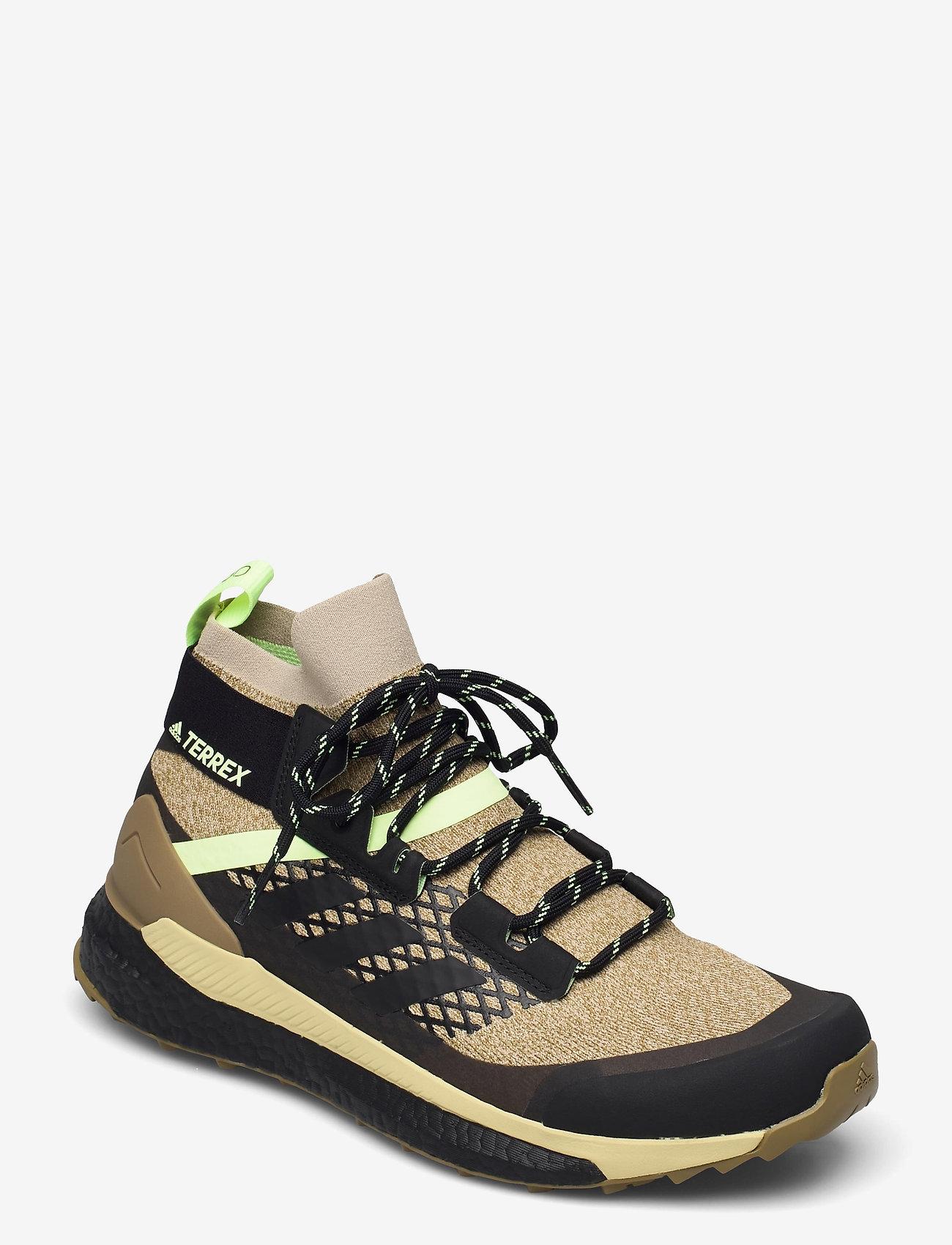 adidas Performance - Terrex Free Hiker Primeblue Hiking - chaussures de randonnée - savann/cblack/hireye - 0