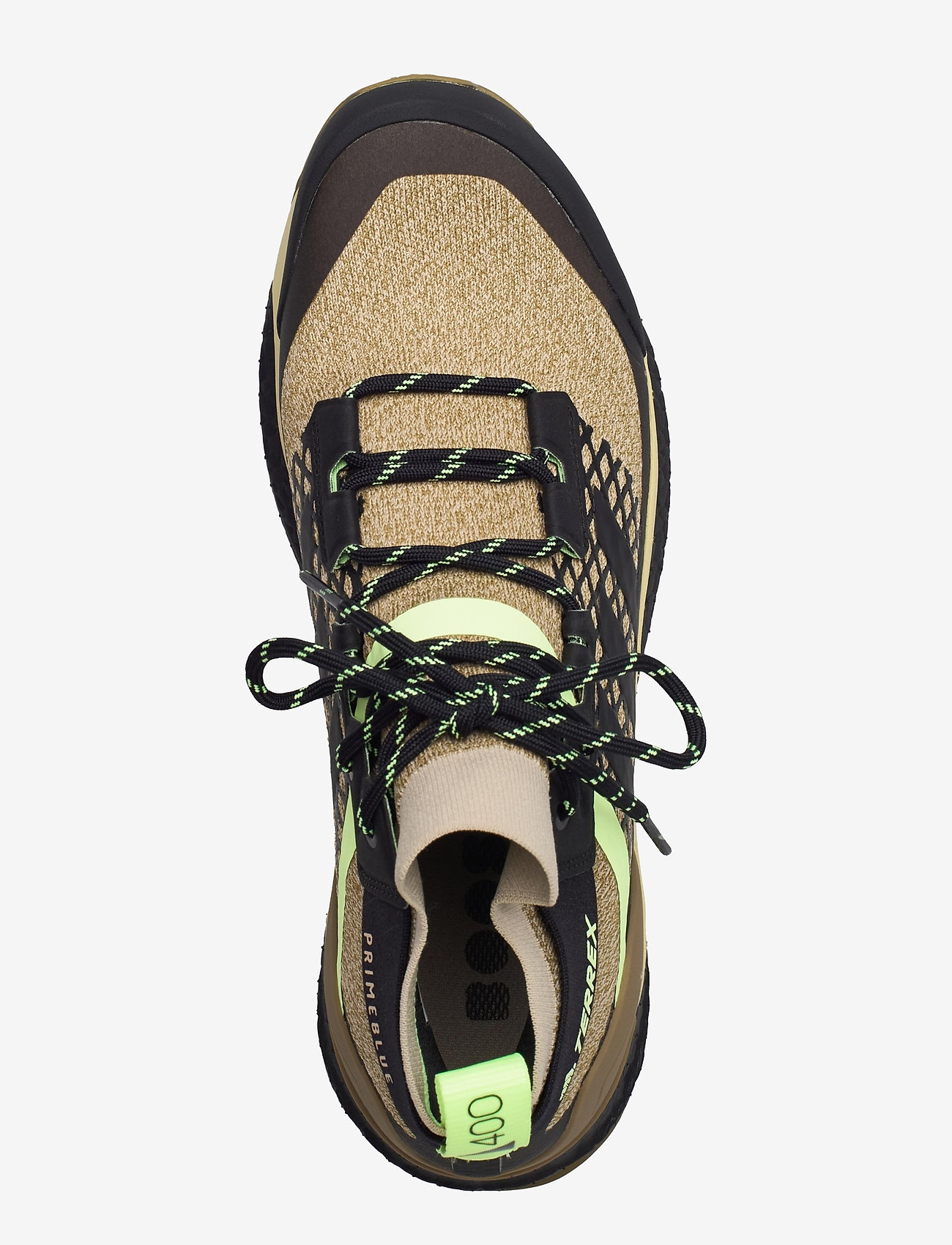 adidas Performance - Terrex Free Hiker Primeblue Hiking - chaussures de randonnée - savann/cblack/hireye - 3