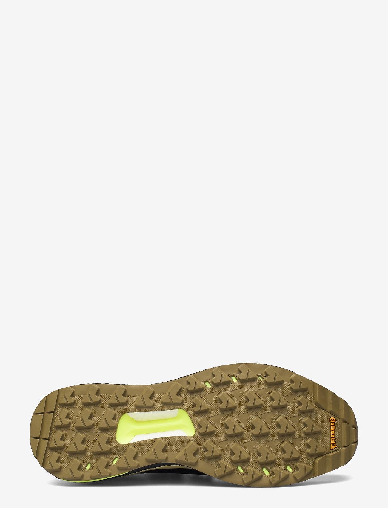 adidas Performance - Terrex Free Hiker Primeblue Hiking - chaussures de randonnée - savann/cblack/hireye - 4