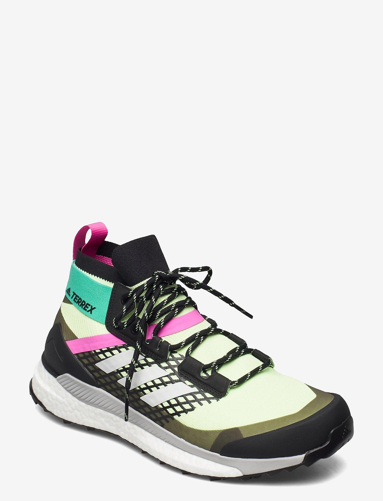 adidas Performance - Terrex Free Hiker Primeblue Hiking - vandringsskor - hireye/crywht/cblack - 1