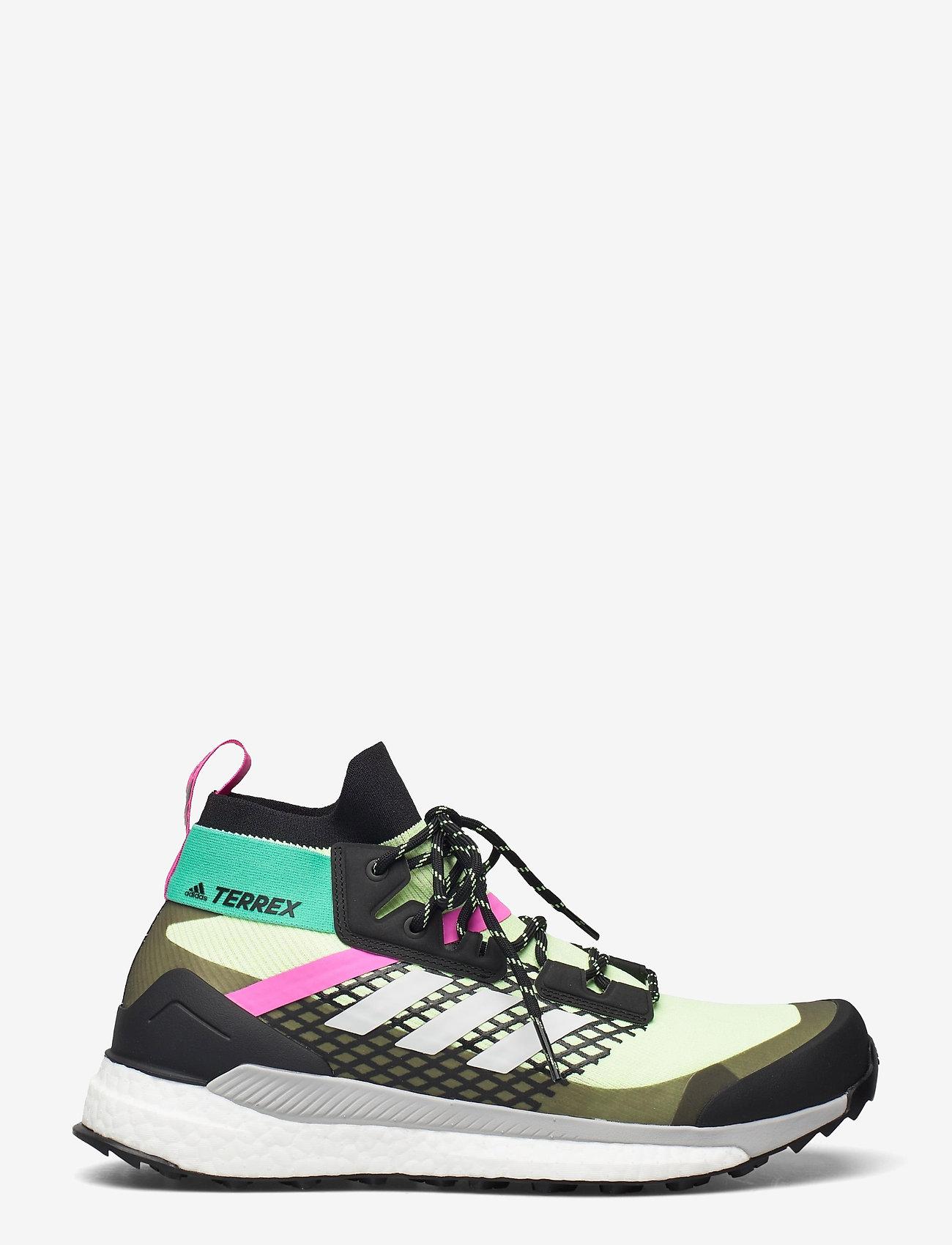 adidas Performance - Terrex Free Hiker Primeblue Hiking - vandringsskor - hireye/crywht/cblack - 0
