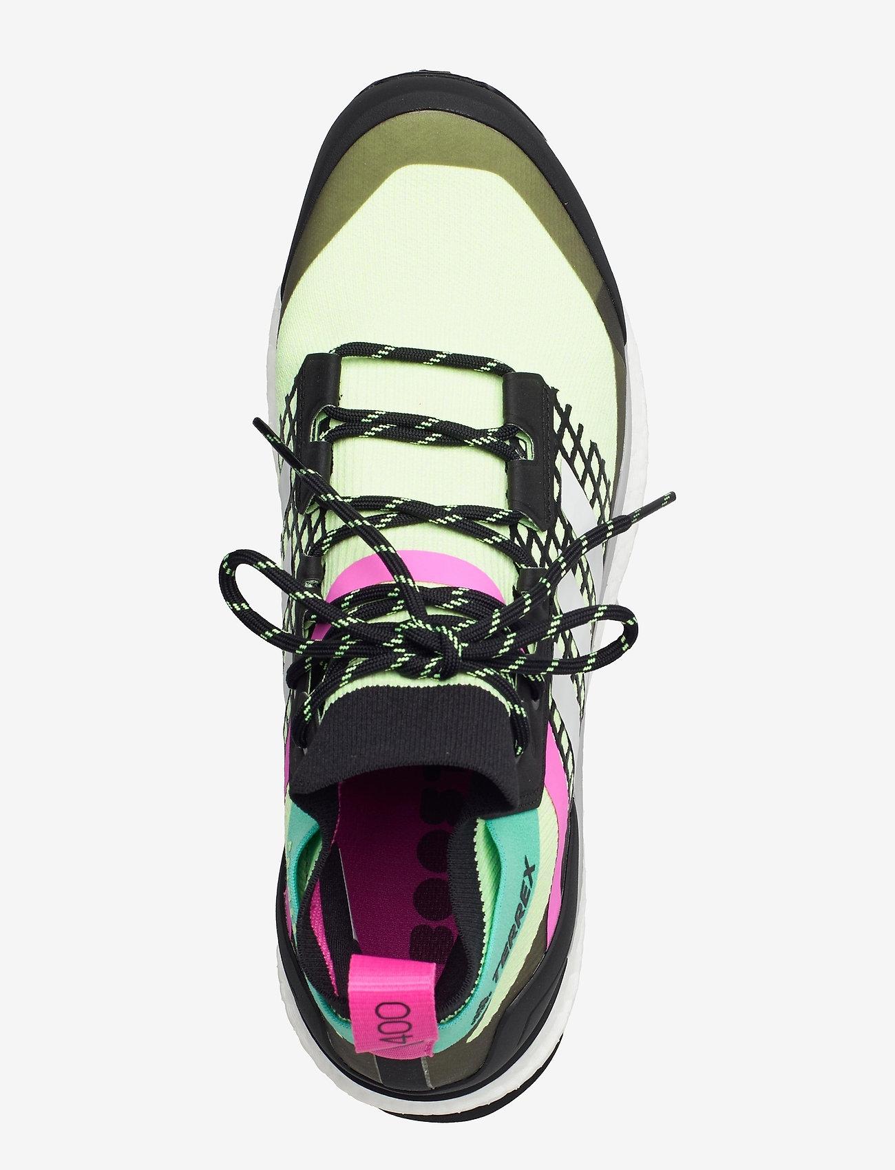 adidas Performance - Terrex Free Hiker Primeblue Hiking - chaussures de randonnée - hireye/crywht/cblack - 3