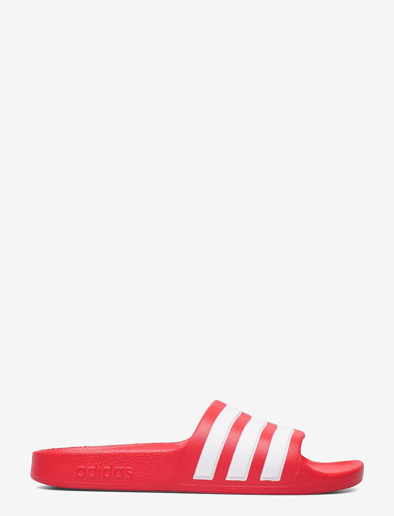 adidas Performance - Adilette Aqua Slides - pool sliders - vivred/ftwwht/vivred - 1