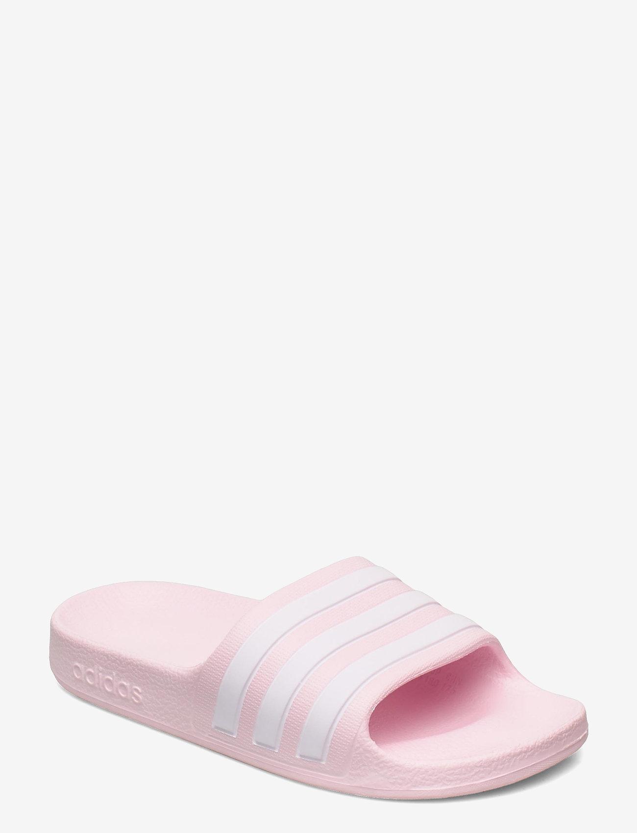 adidas Performance - Adilette Aqua Slides - pool sliders - clpink/ftwwht/clpink - 0