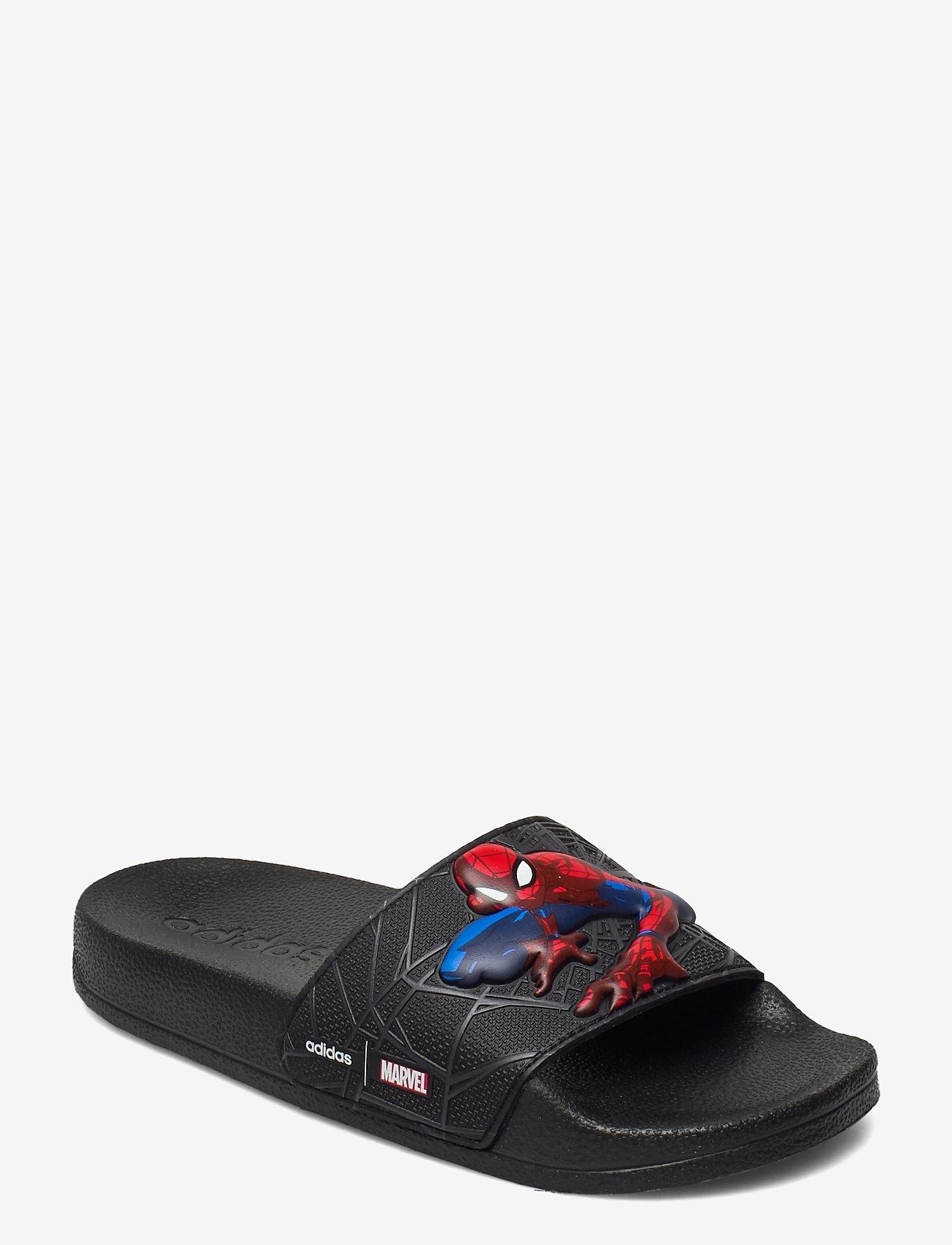 adidas Performance - Adilette Shower Slides - pool sliders - cblack/cblack/gresix - 0
