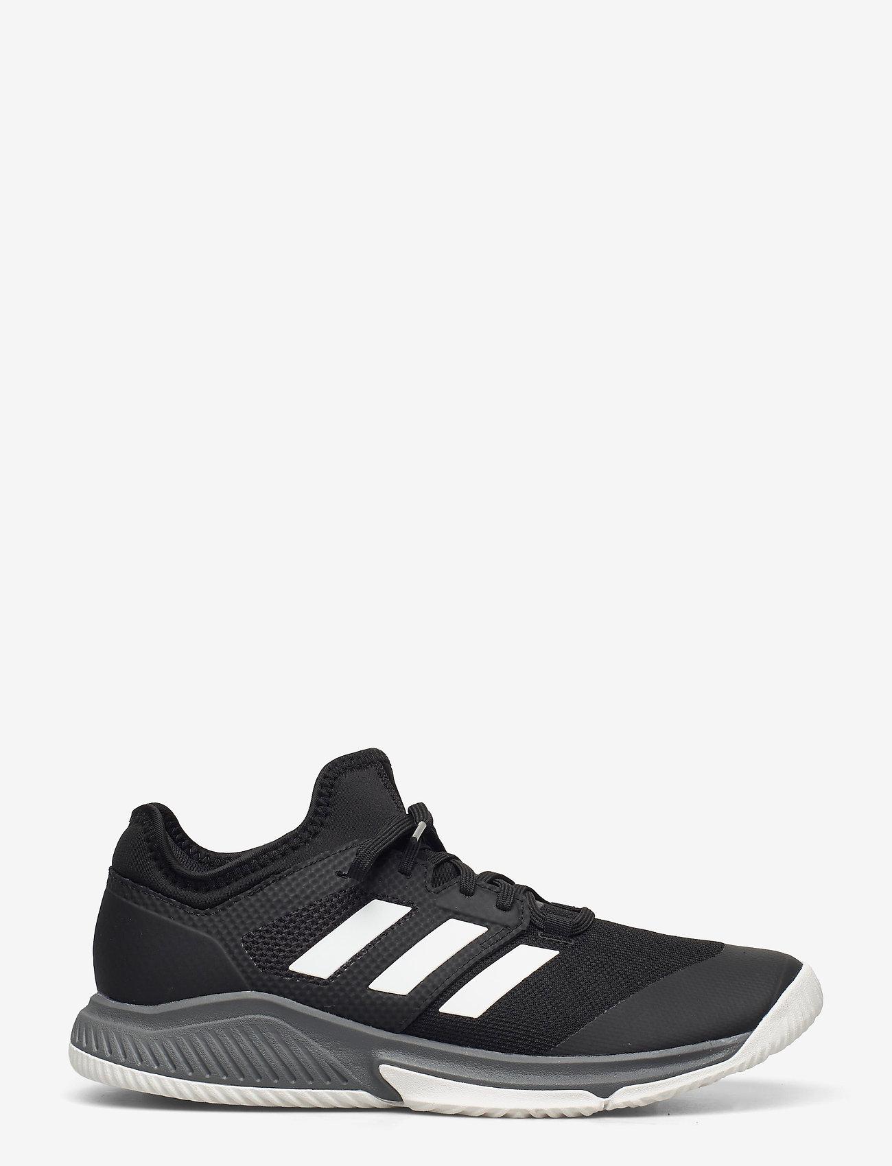 adidas Performance - Court Team Bounce M - inomhusskor - cblack/ftwwht/grefou - 0