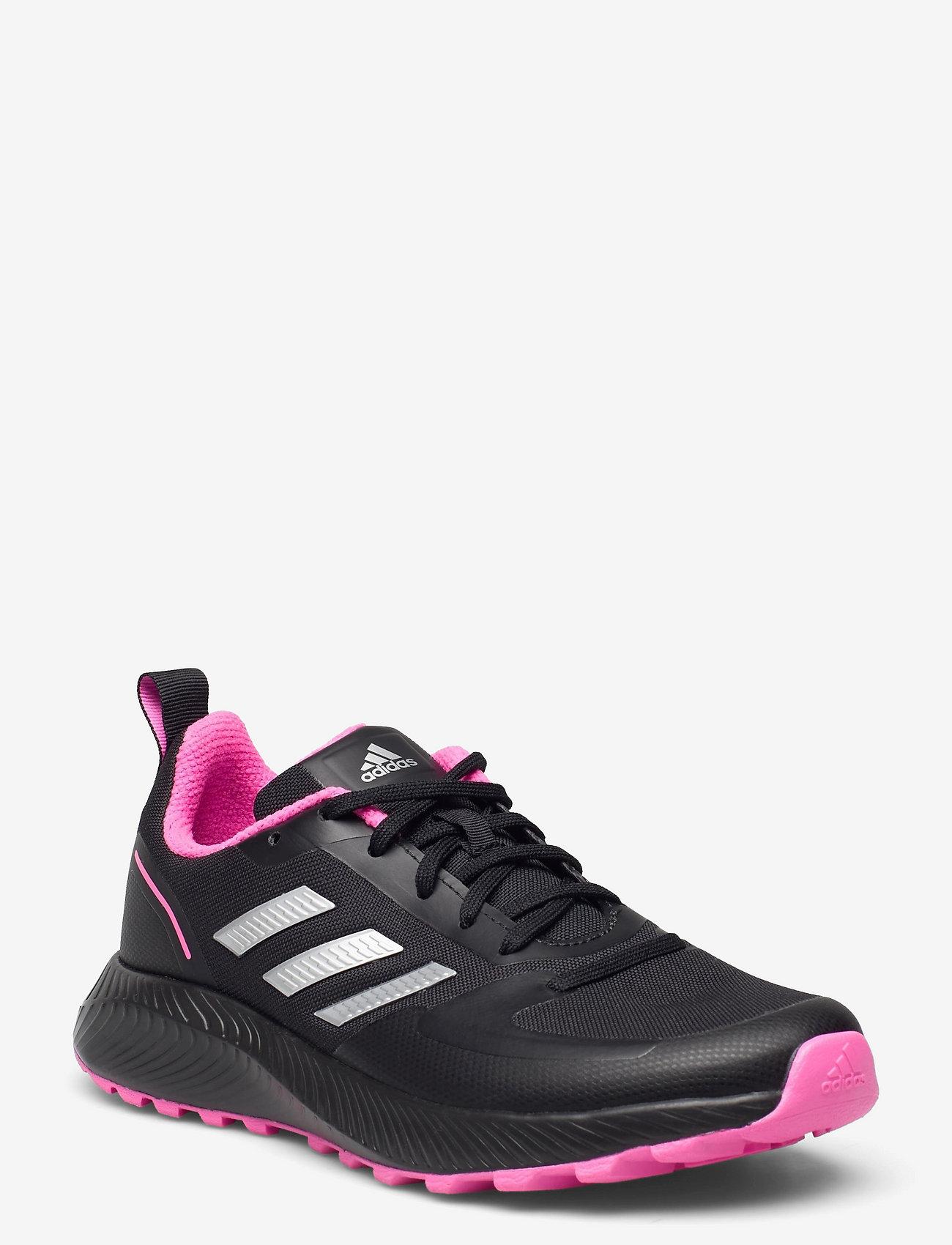 adidas Performance - Run Falcon 2.0 TR  W - running shoes - cblack/silvmt/scrpnk - 0