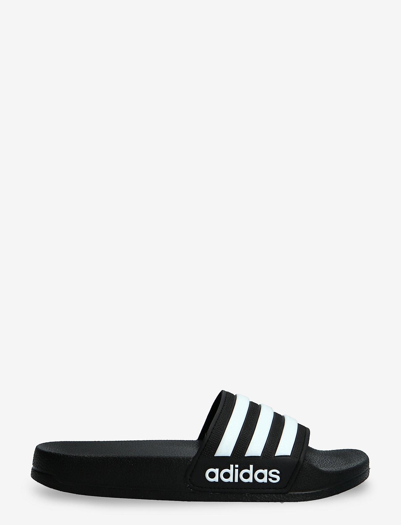 adidas Performance - Adilette Shower Slides - pool sliders - cblack/ftwwht/cblack - 1