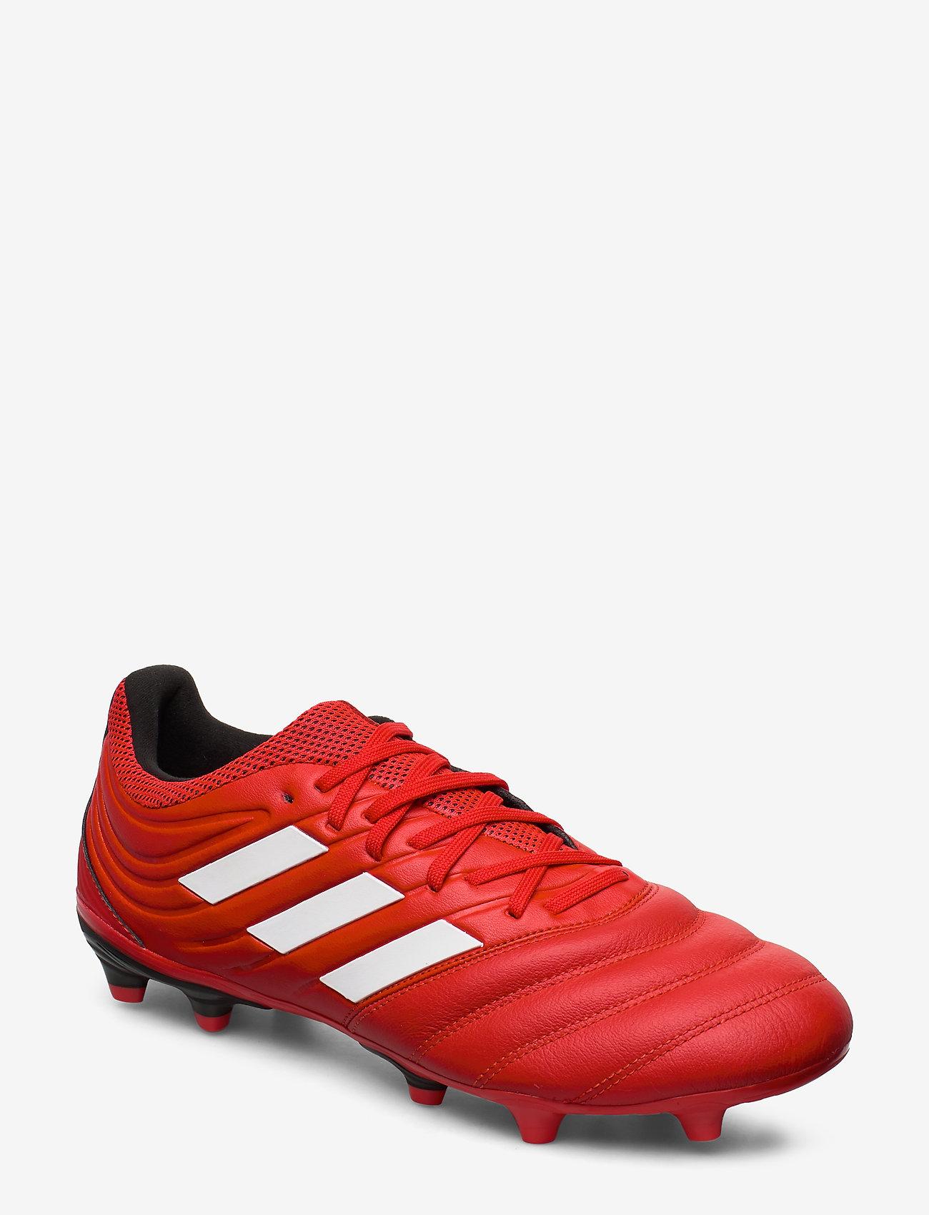 adidas Performance - COPA 20.3 FG - fotbollsskor - actred/ftwwht/cblack - 1