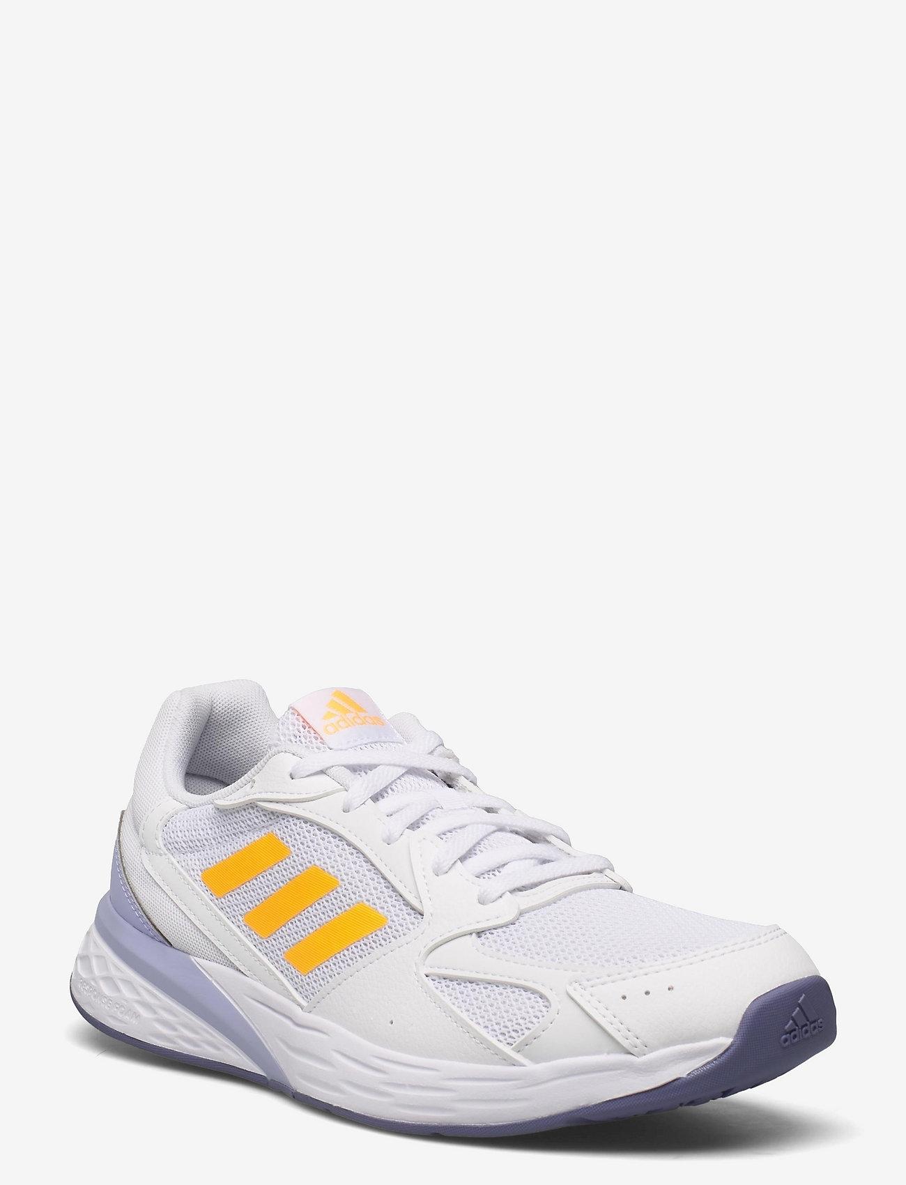 adidas Performance - Response Run  W - running shoes - ftwwht/sogold/vioton - 0