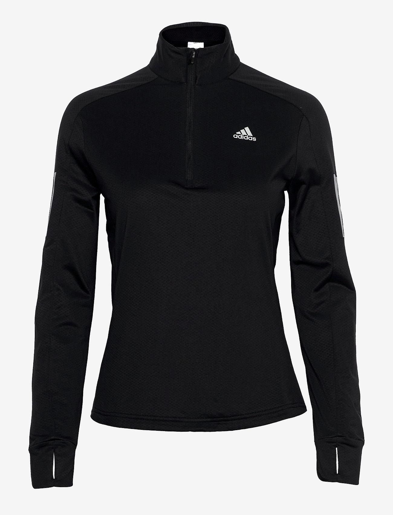 adidas Performance - Own the Run 1/2 Zip Warm Sweatshirt W - svetarit - black - 0