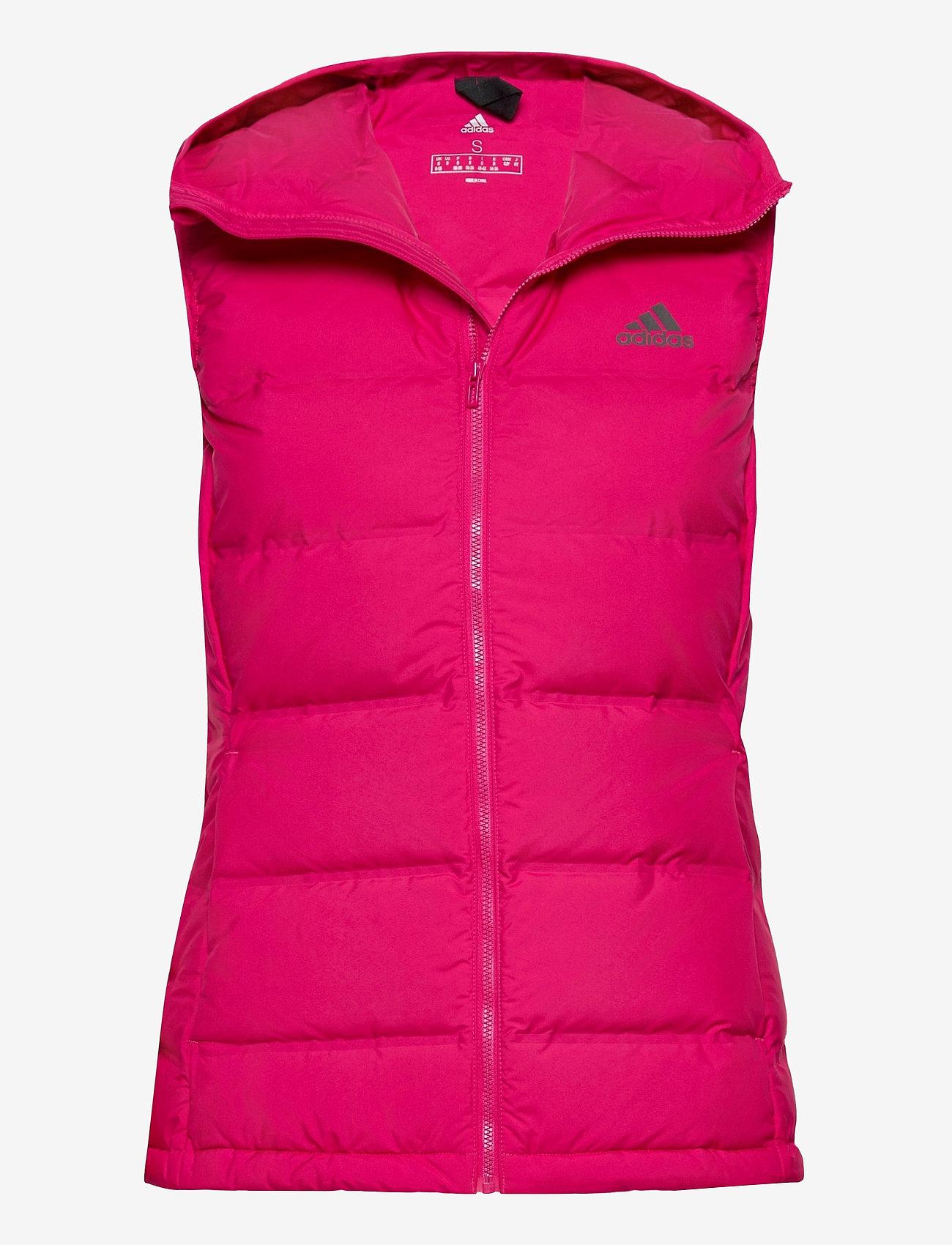 adidas Performance - W Helionic Vest - puffer vests - bopink - 1