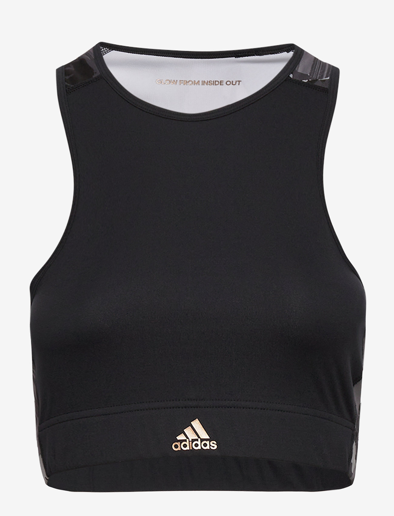 adidas Performance - W U-B-U B TOP - sportbeh''s: low - black/coppmt - 0
