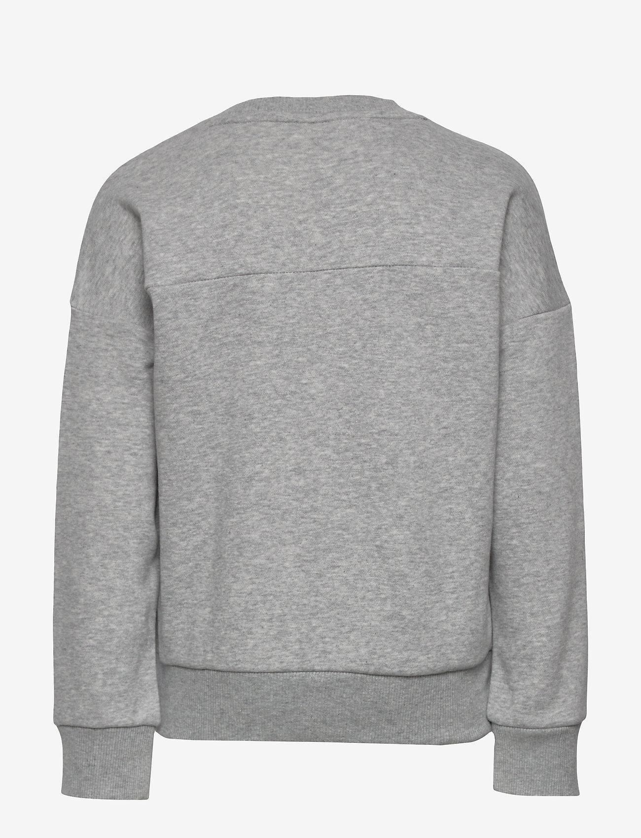 adidas Performance - JG MH CREW - sweatshirts - mgreyh/hazcor - 1