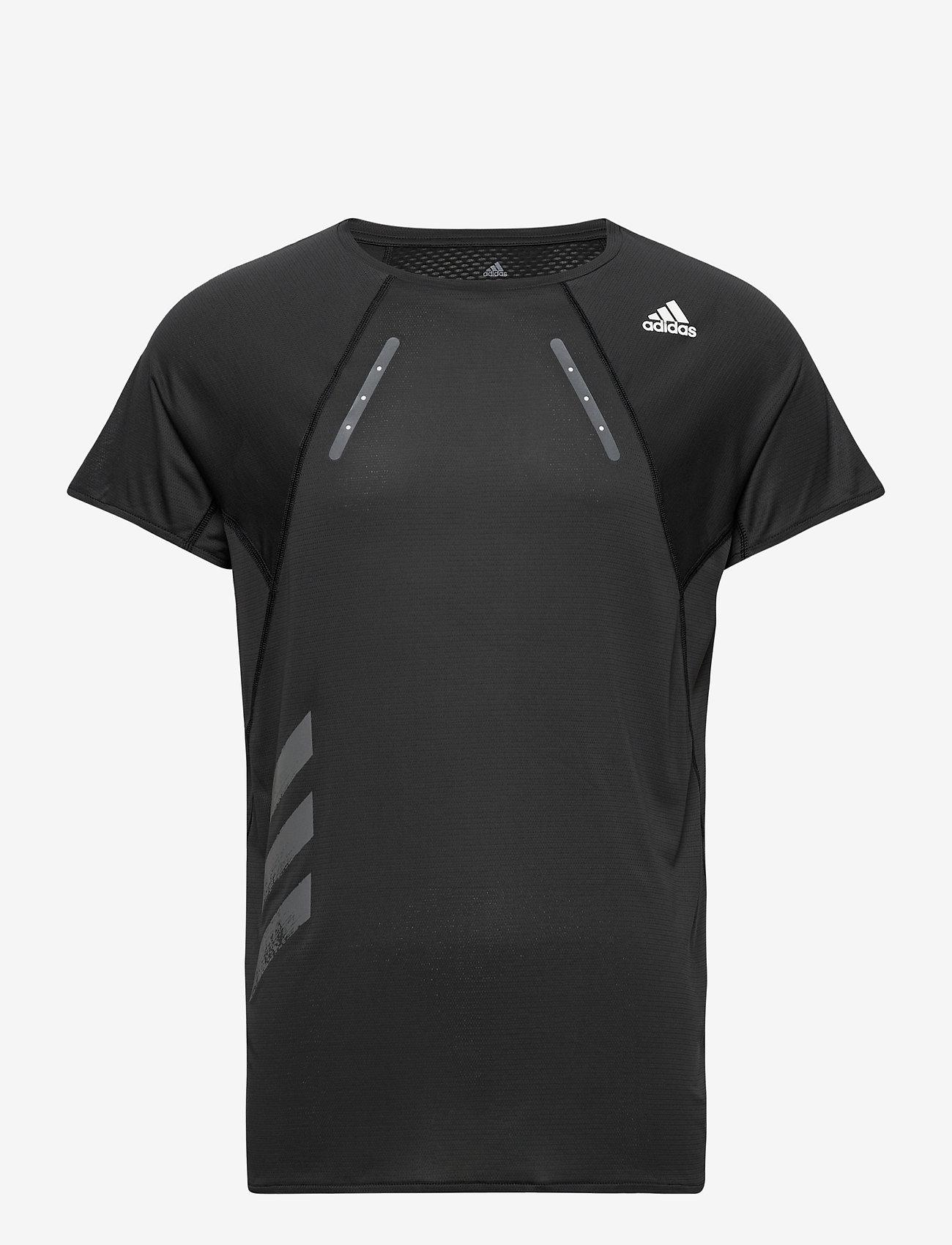 adidas Performance - HEAT.RDY TEE M - sportoberteile - black - 0