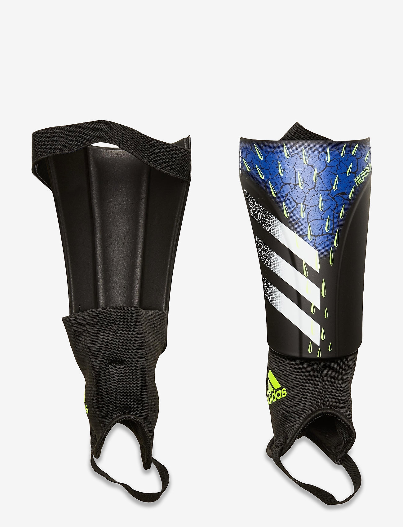 adidas Performance - Predator Match Shin Guards - fotballutstyr - black/white/syello - 0