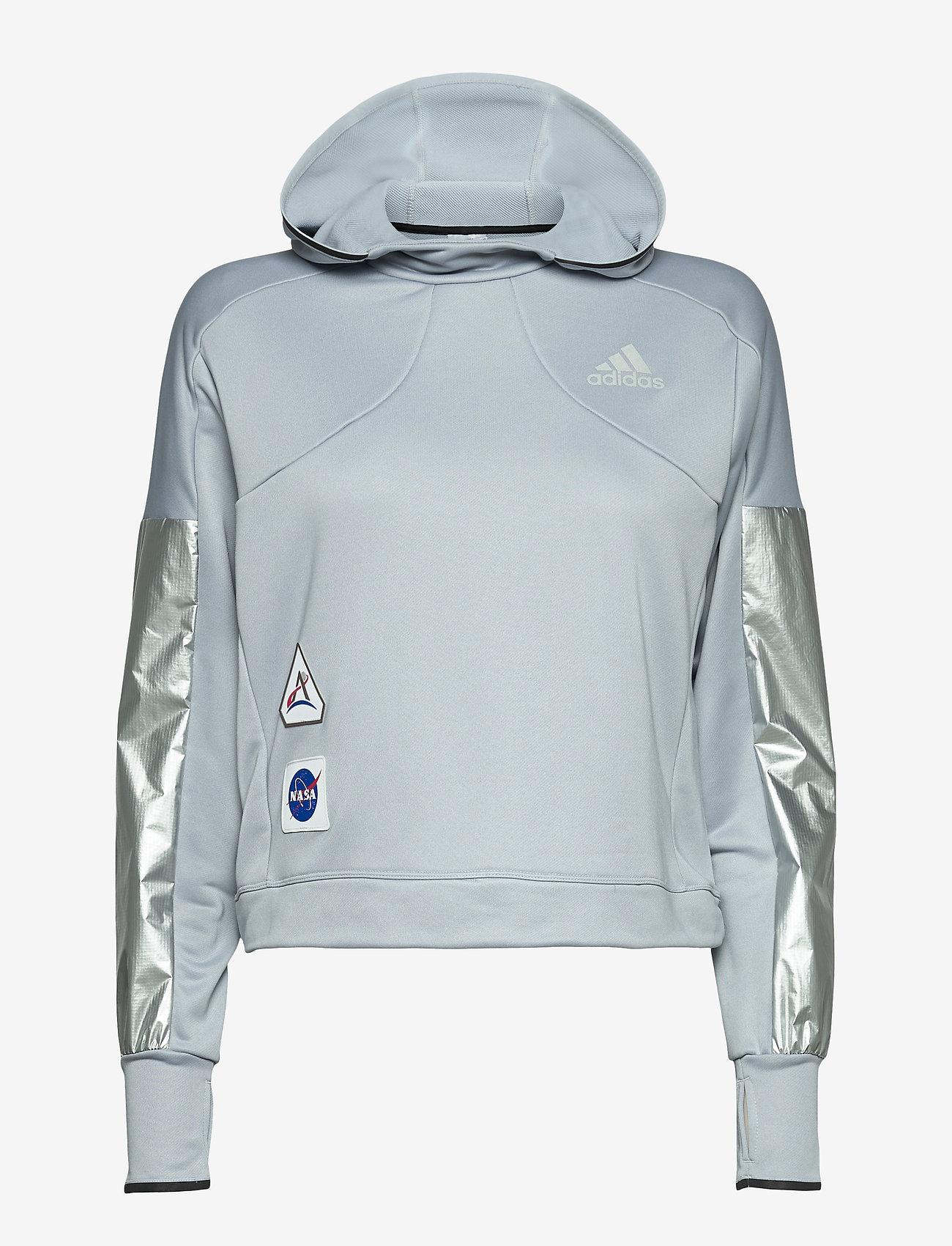adidas Performance - Space Race Hoodie W - hoodies - halsil - 1